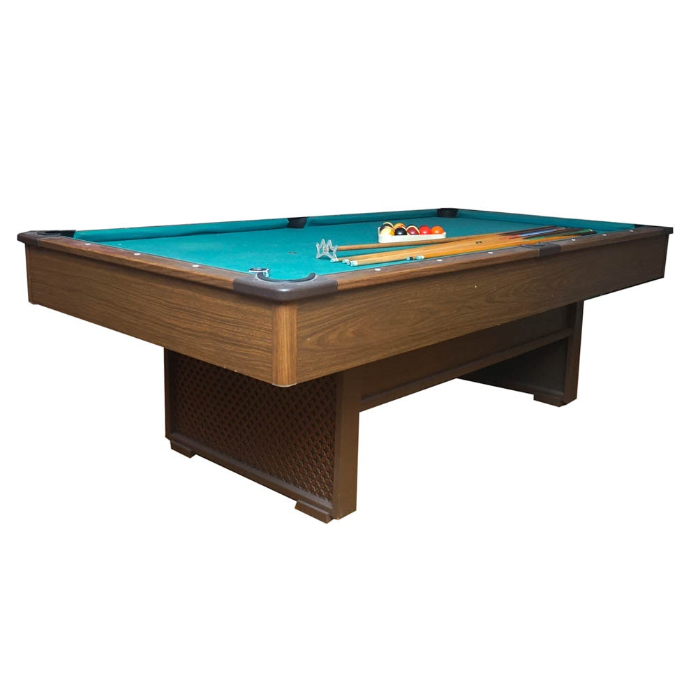 Billiards Table With Accessories