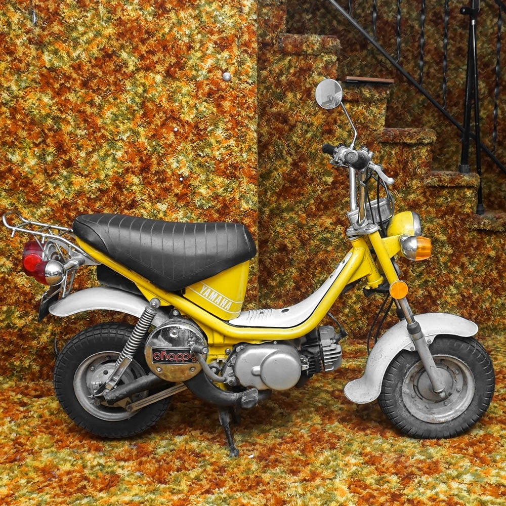 1977 Yamaha Chappy Moped
