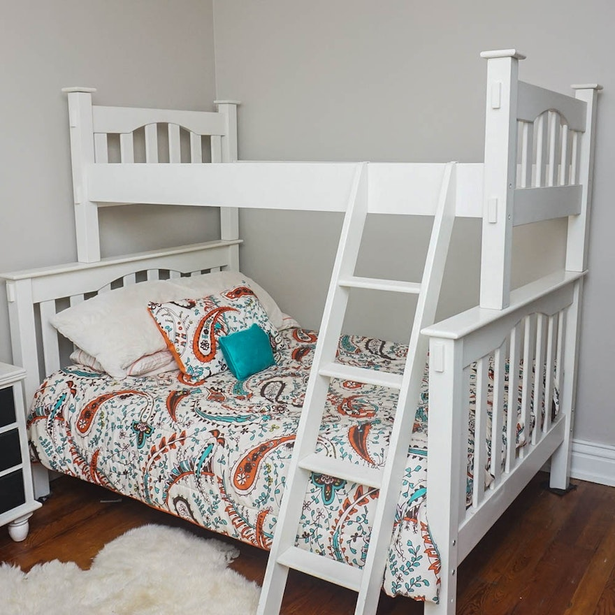 Twin Over Full Bunk Bed By Pottery Barn Kids