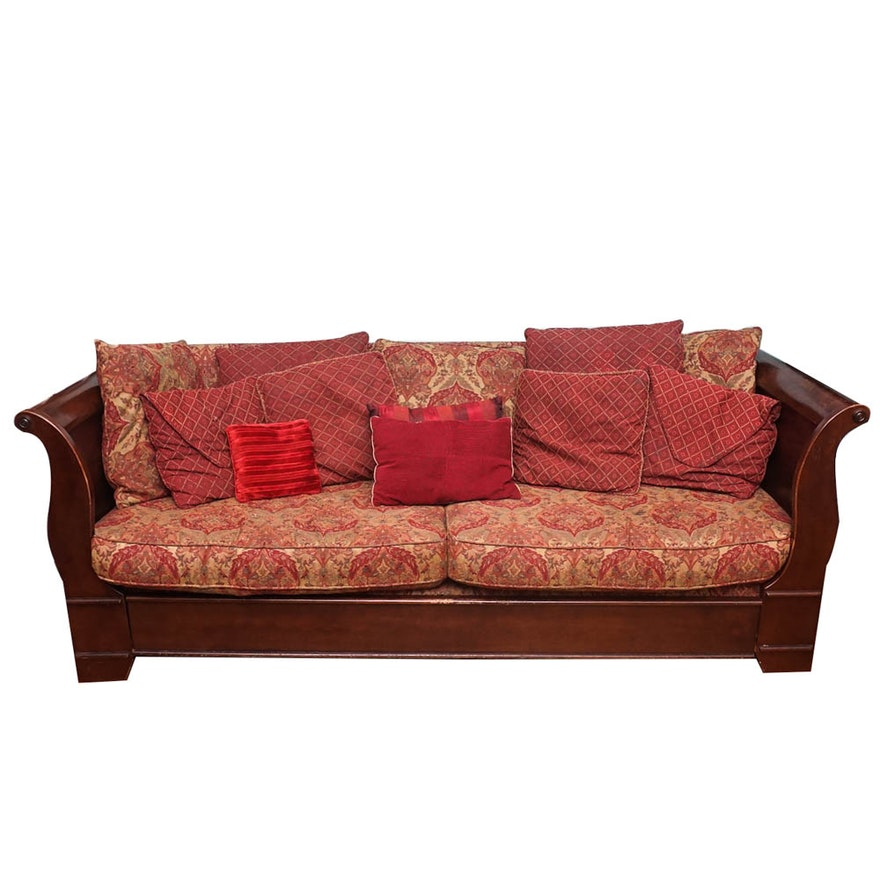 Sleigh Sofa from Bassett Furniture