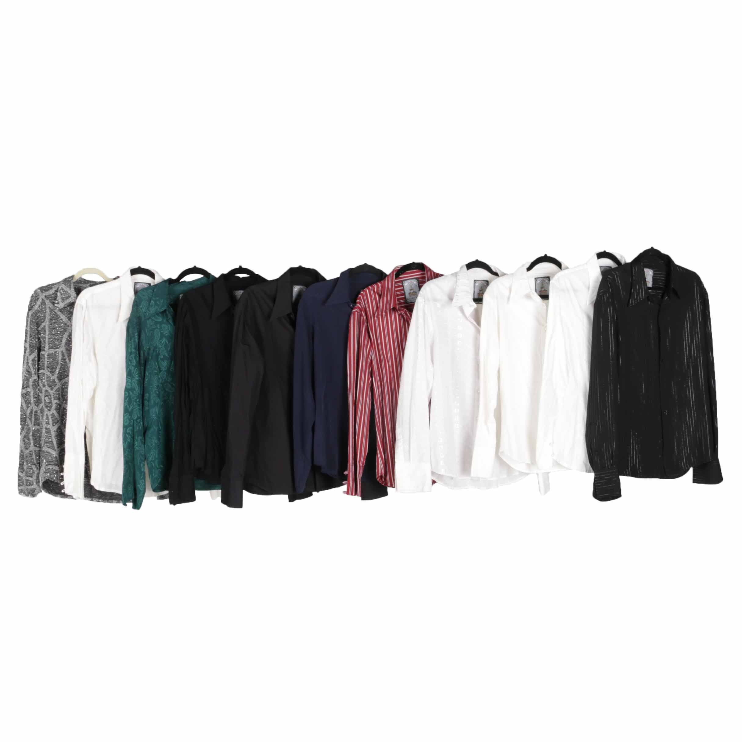 Button Down Tops by Lords