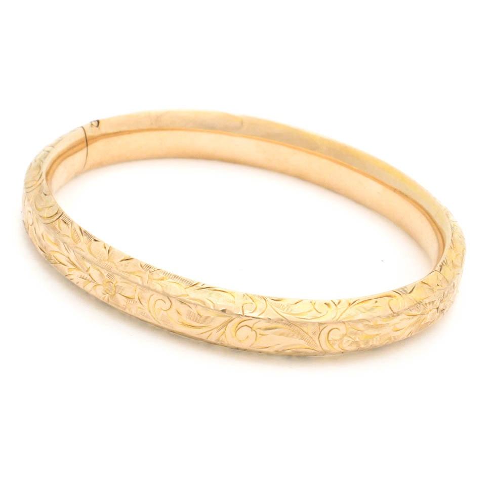 10K Yellow Gold Bracelet
