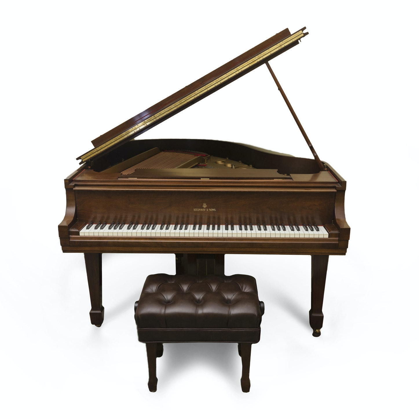 Steinway & Sons Baby Grand Piano & Bench