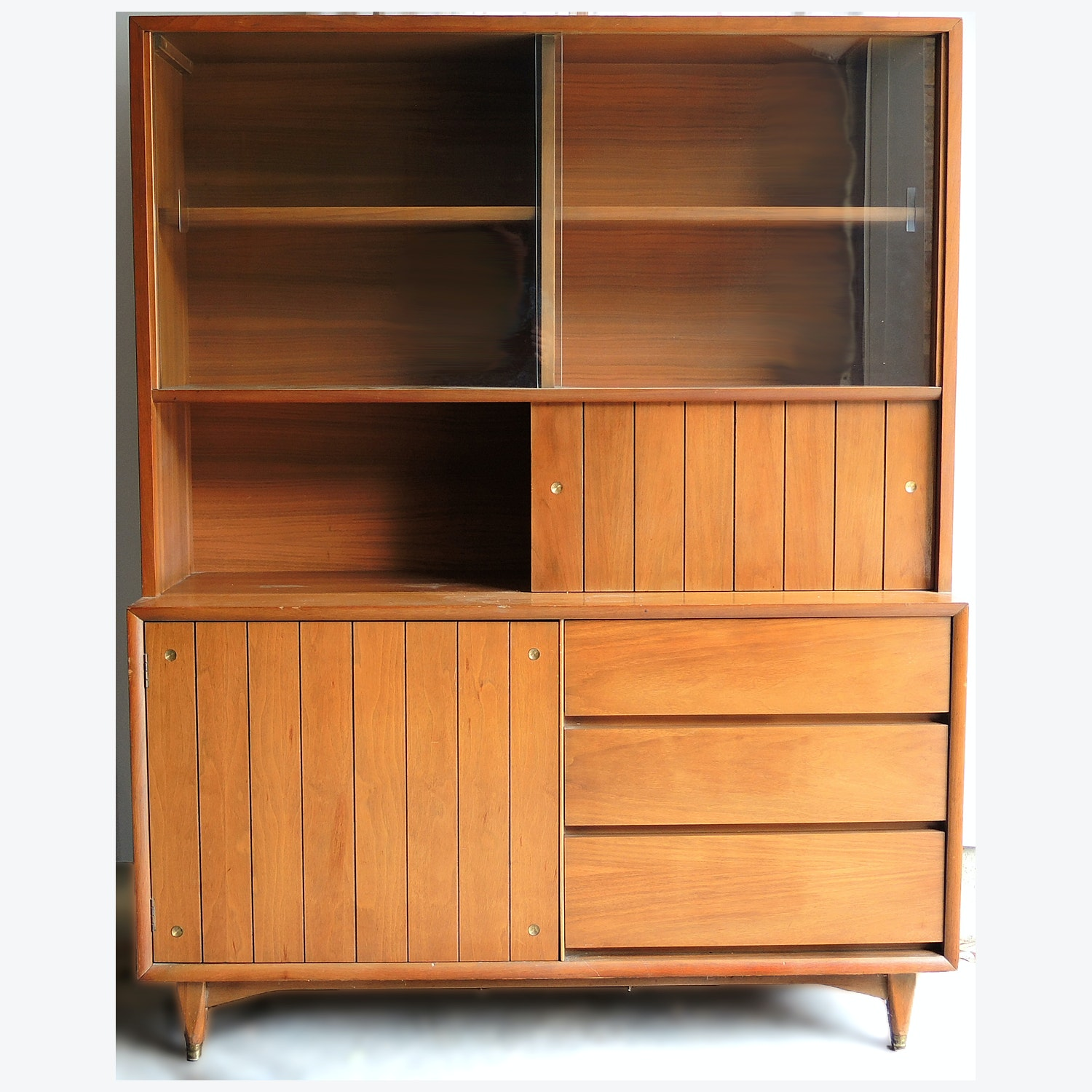 Mid Century Modern China Cabinet by Kroehler