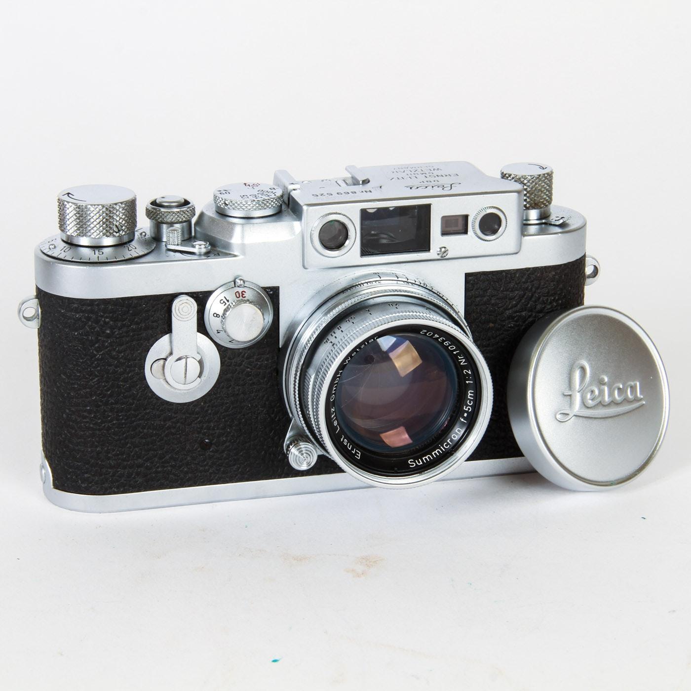 Vitnage Leica DBP Camera and Manual