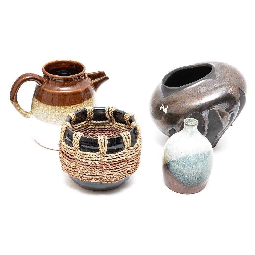 Brown Ceramic Pottery