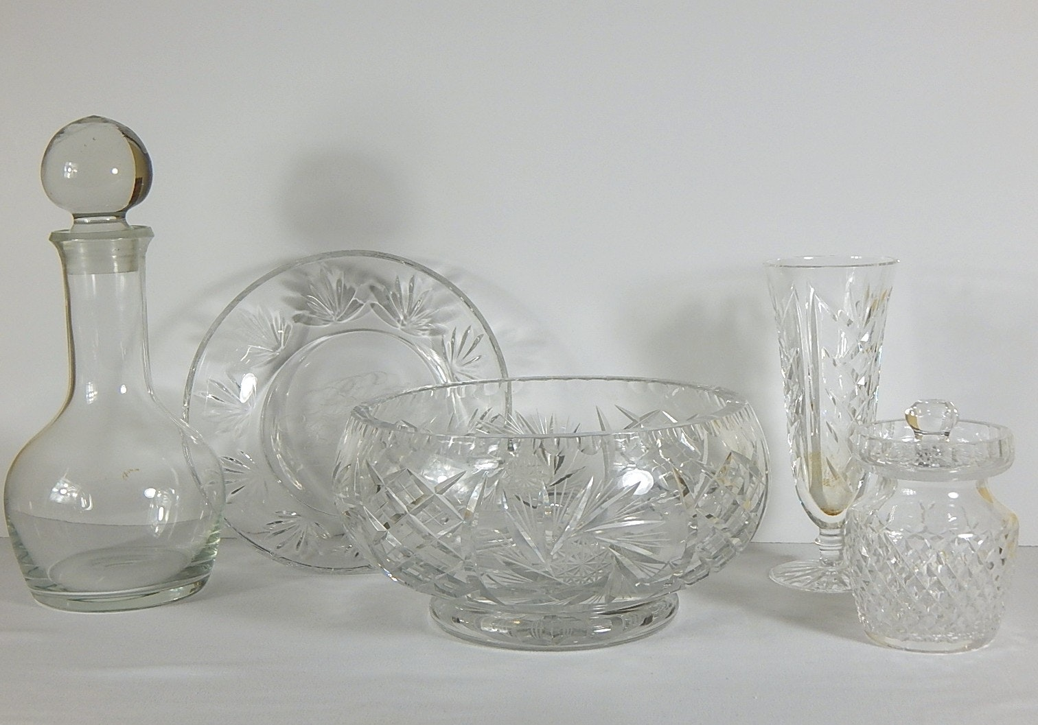 Decorative Crystal Lot with Waterford