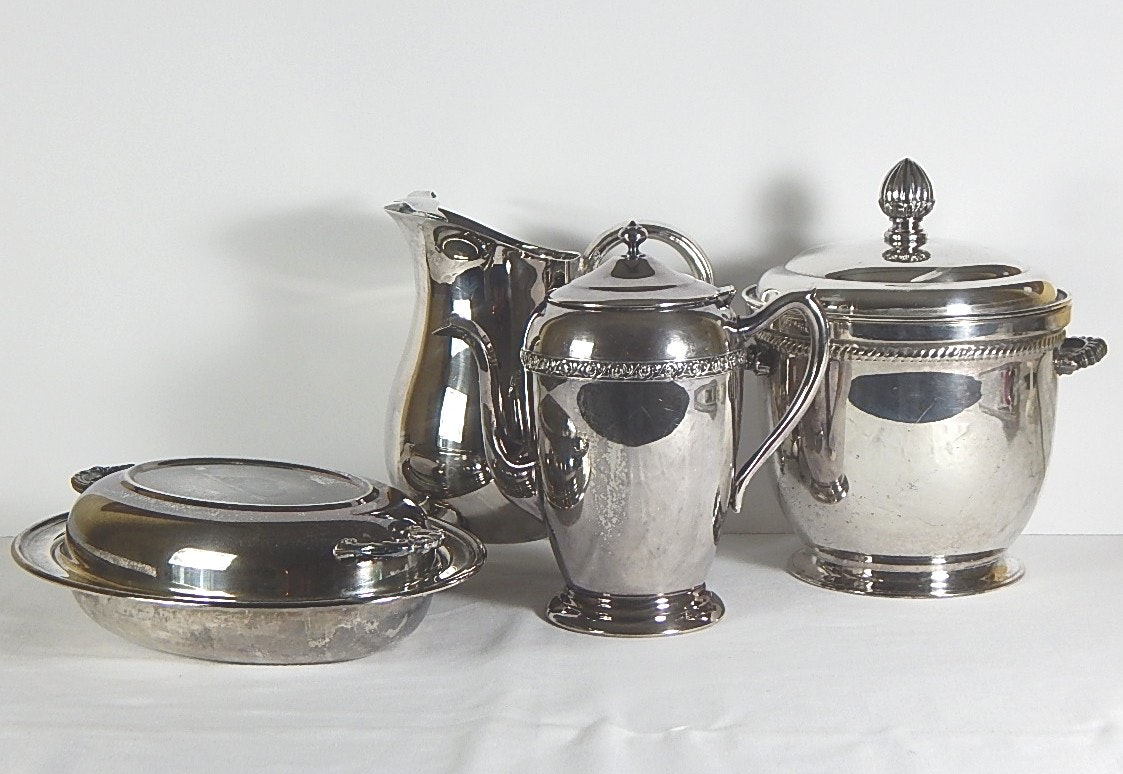 Silver Plate Entertaining Collection