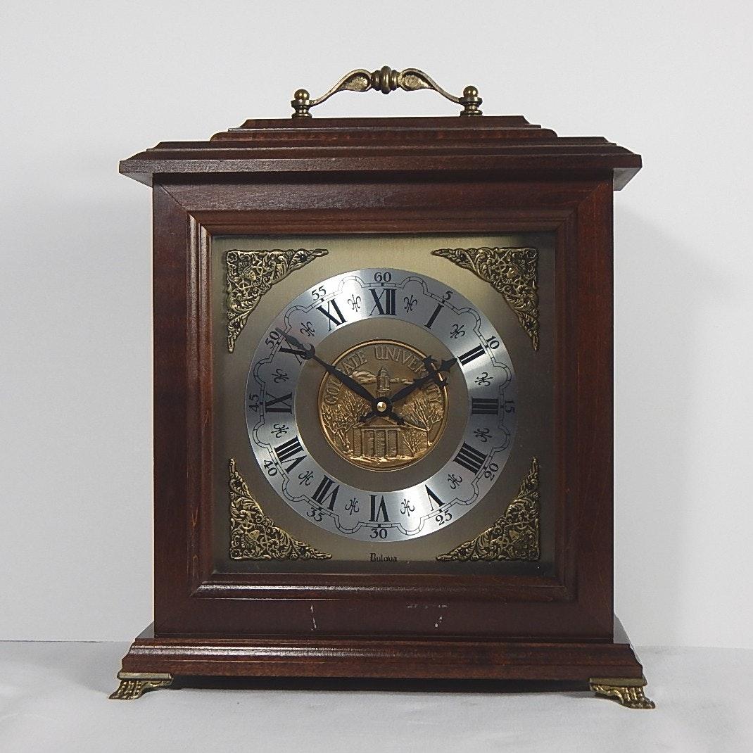 Bulova mantel clock battery operated