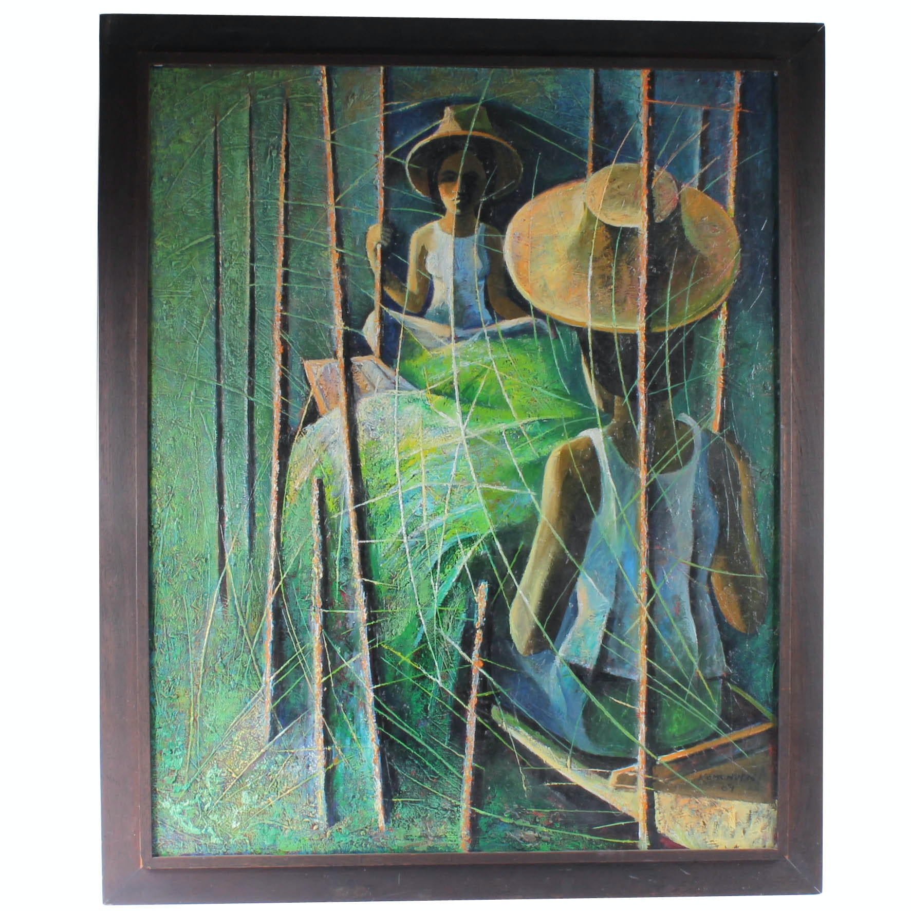 Soonpongsri Kamchorn Original Oil Painting on Board