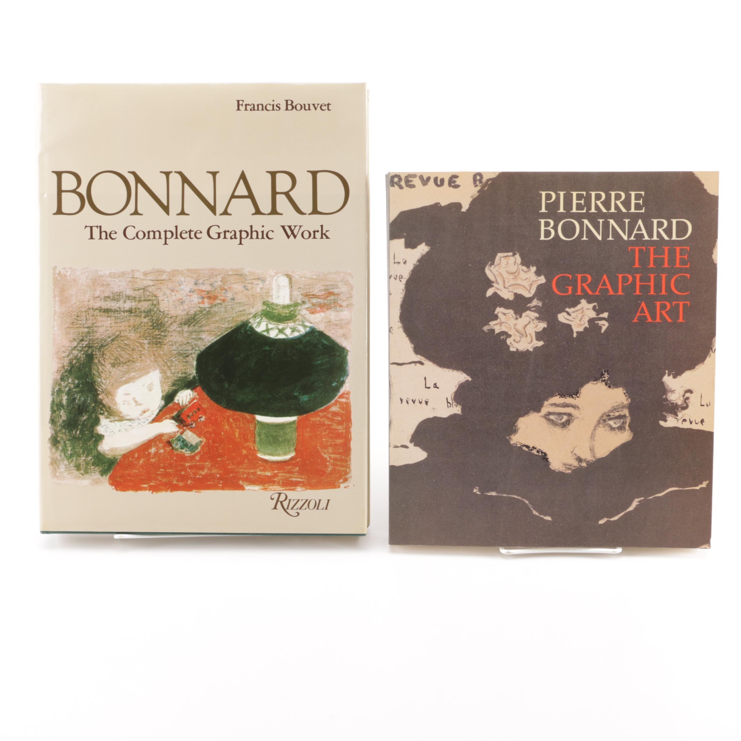 Books on Pierre Bonnard
