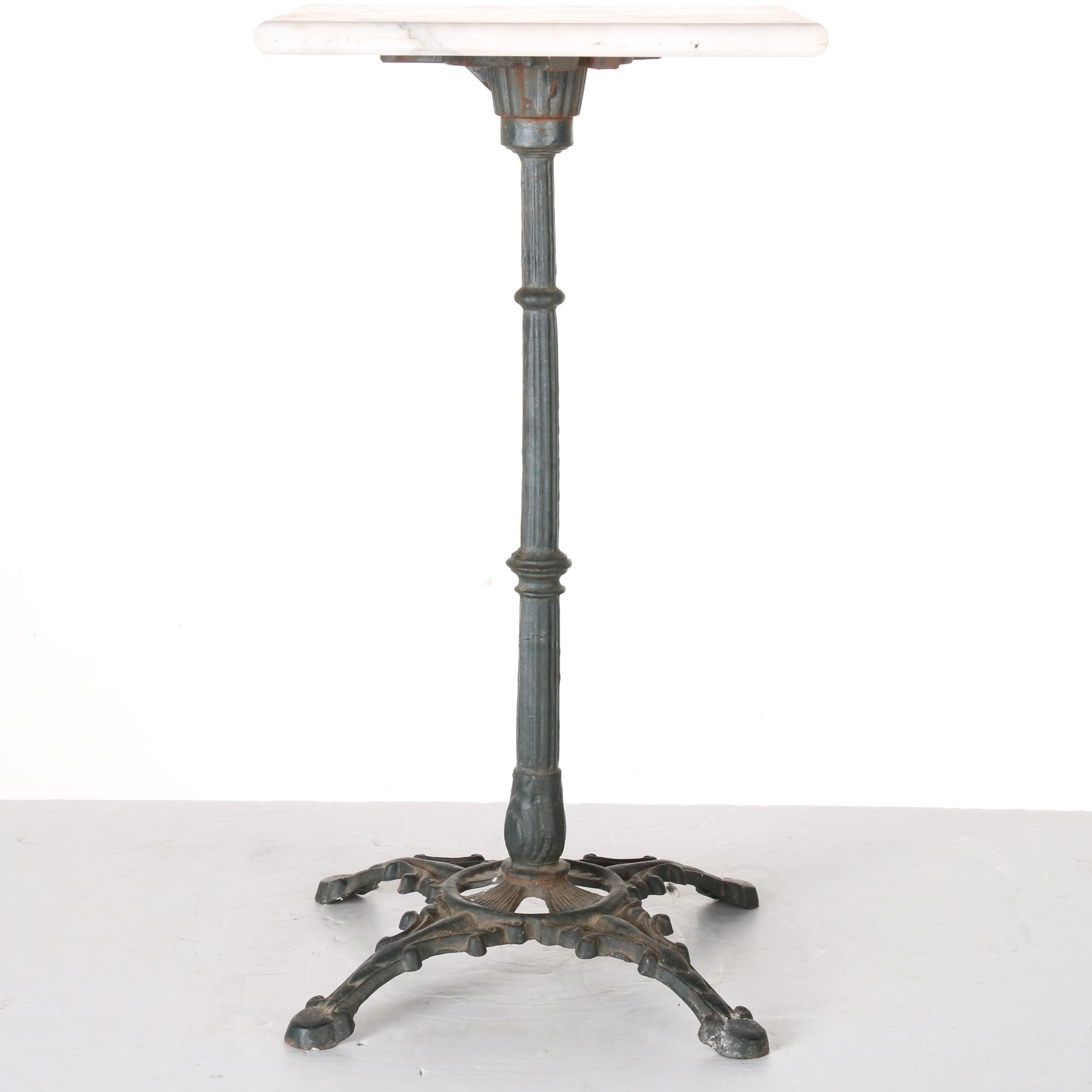 Early 20th Century Cast Iron Plant Stand