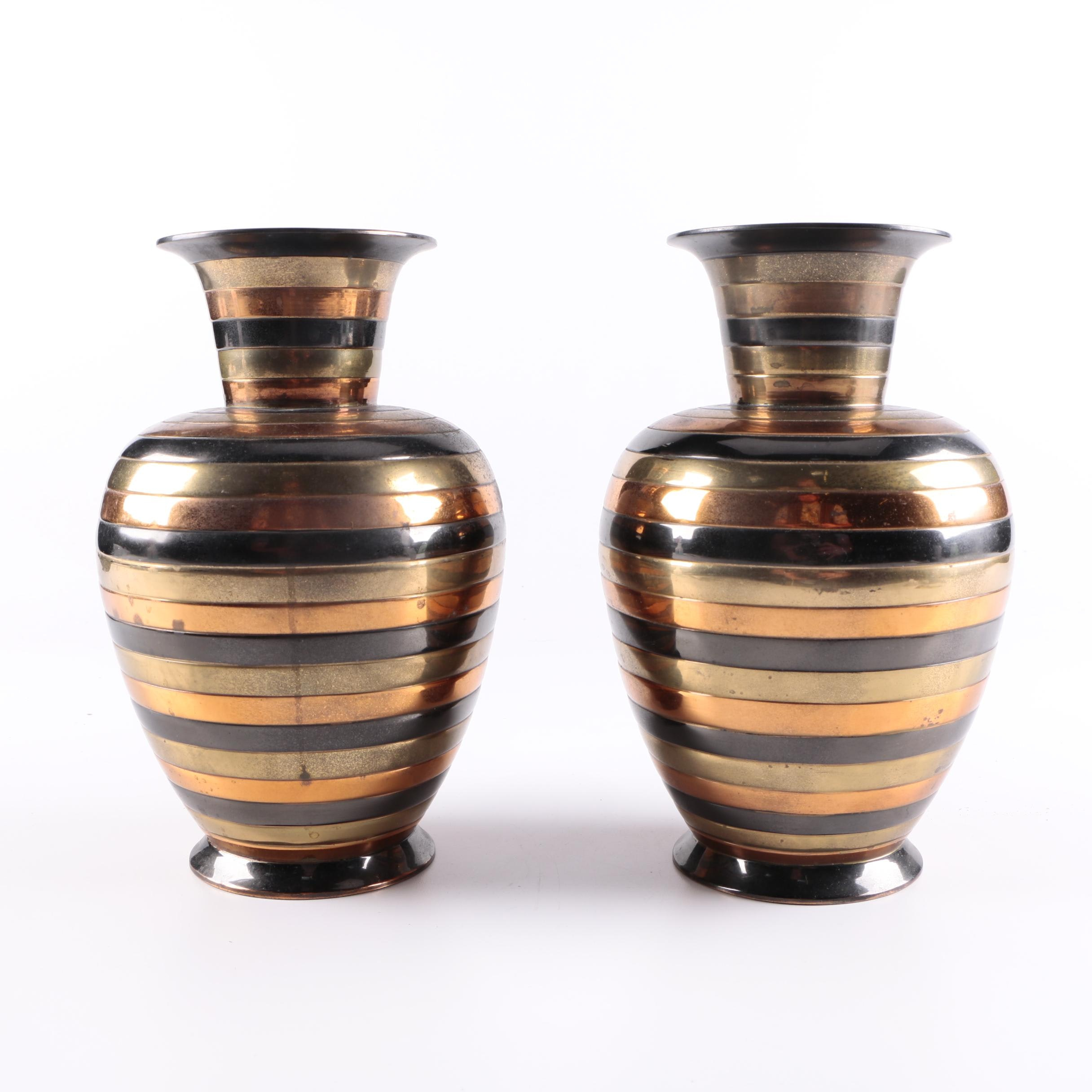 Penco Industries Metal Vases