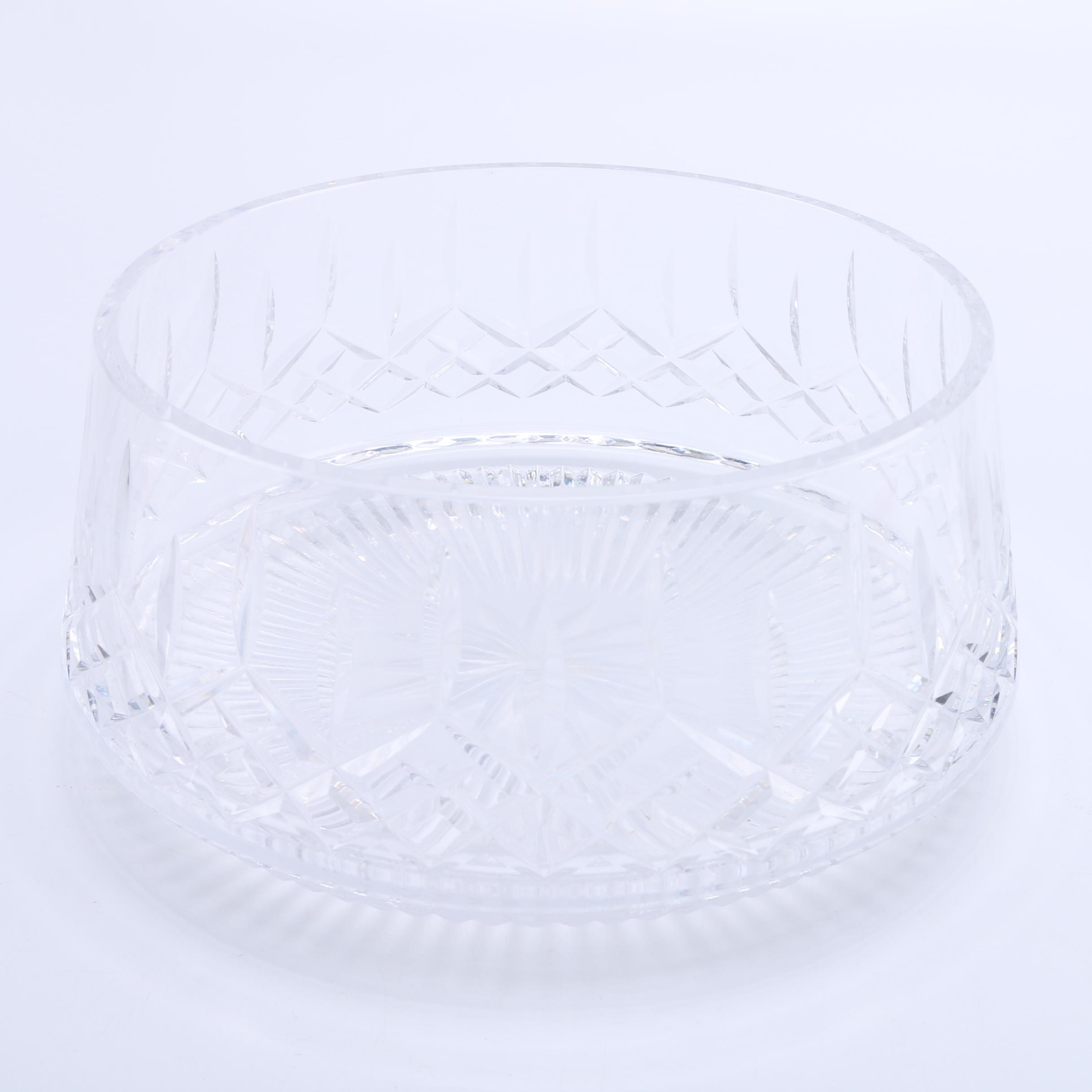 "Waterford ""Lismore"" Crystal Salad Bowl"