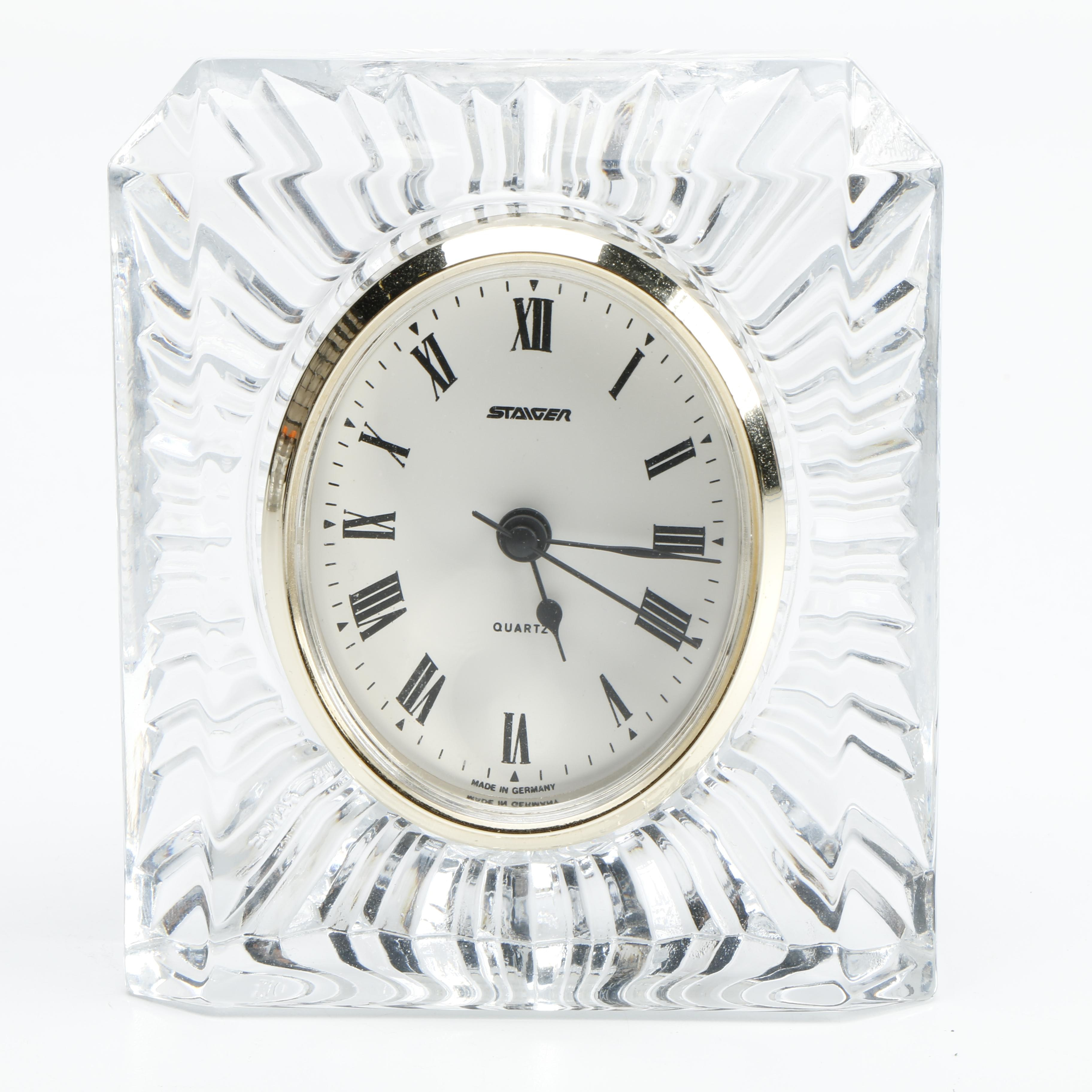 Staiger French Crystal Clock