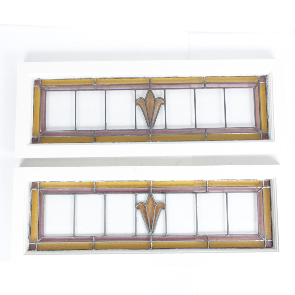 Hand Crafted Stained Glass Transform Window Panels
