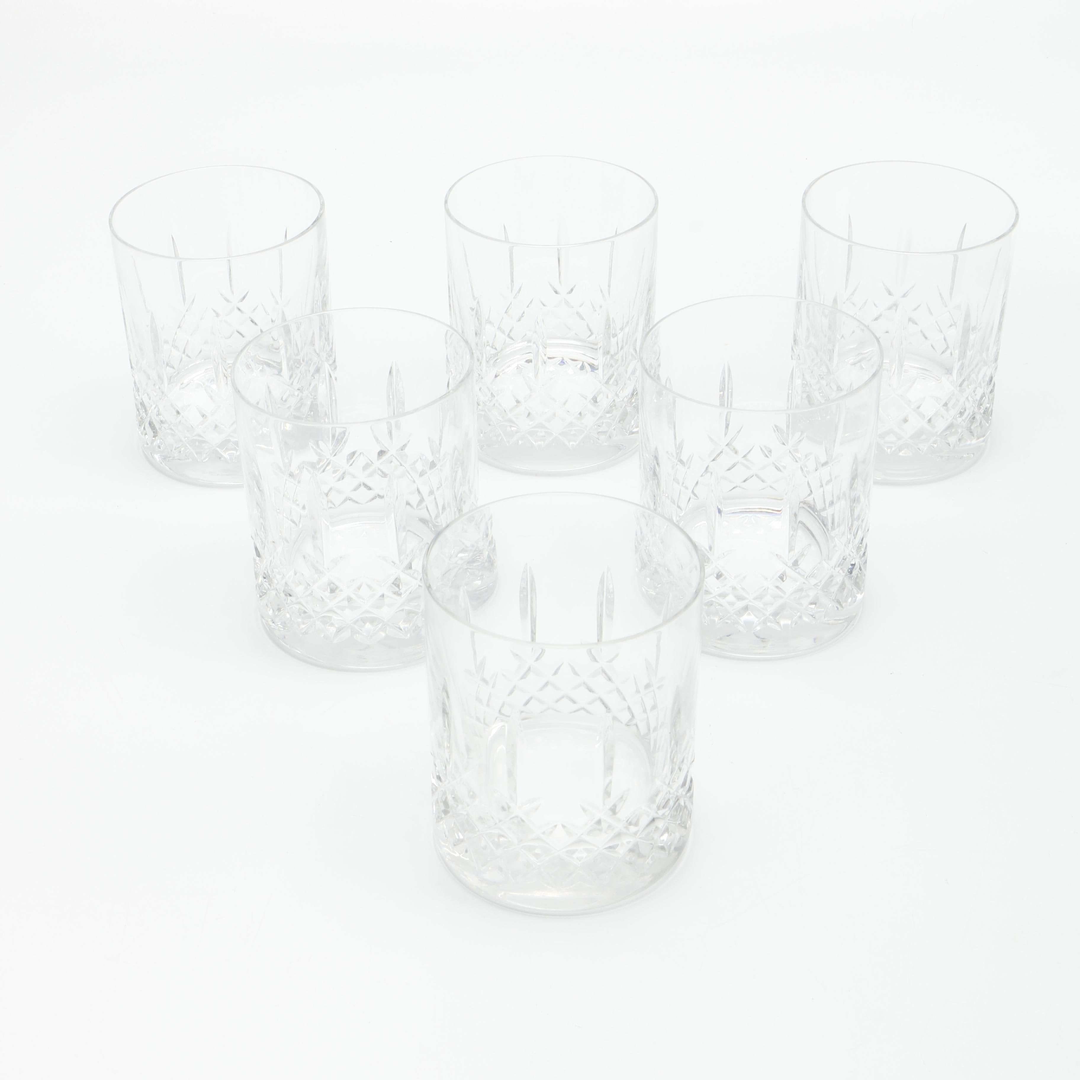 Set of Crystal Rocks Glasses
