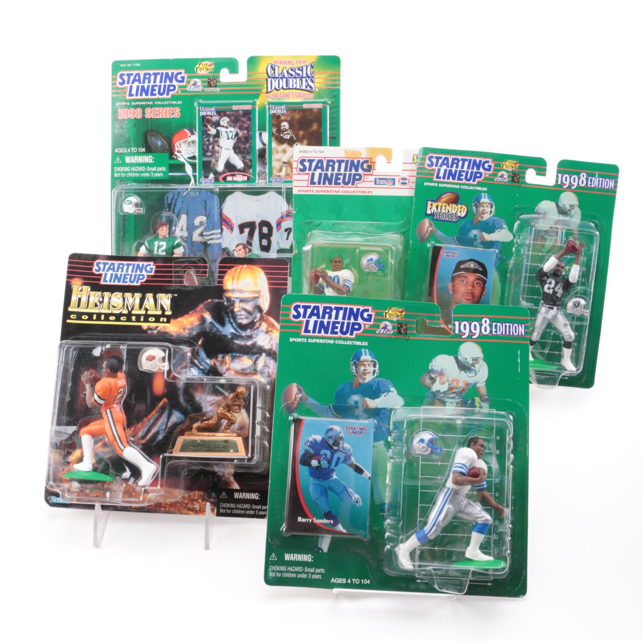 NFL Starting Lineup Sports Superstar Collectible Action Figures