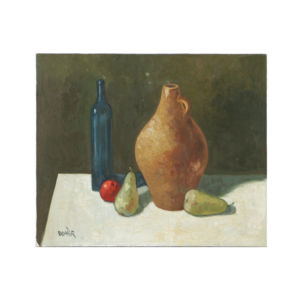 Donèr Oil Painting on Canvas Still Life