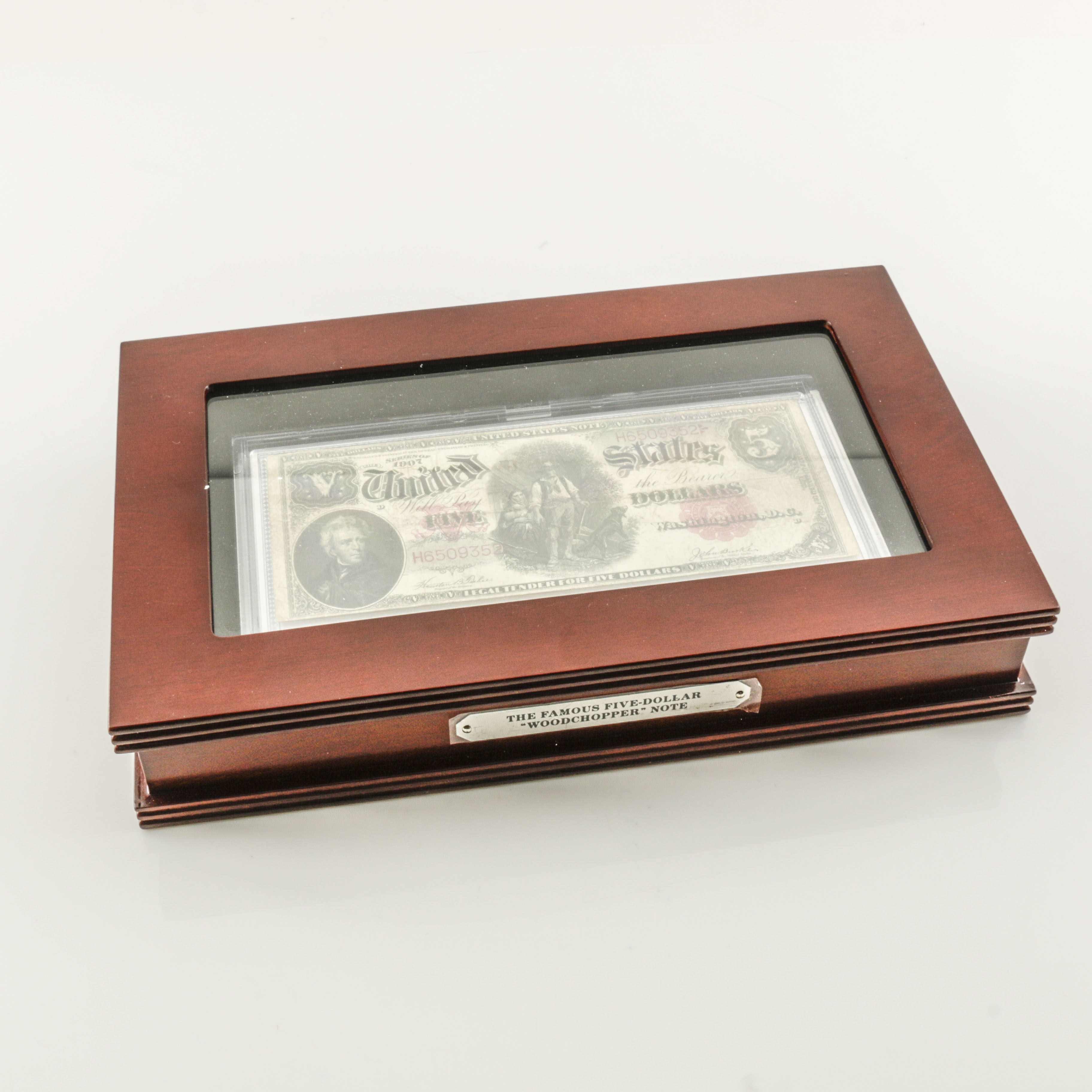 "Series of 1907 Five Dollar ""Woodchopper"" Legal Tender Note"