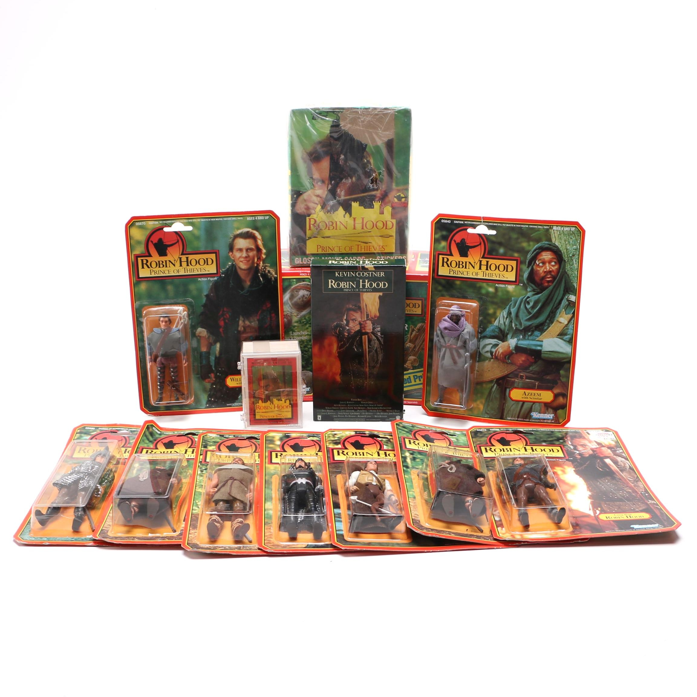 """Robin Hood: Prince of Thieves"" VHS and Action Figures"