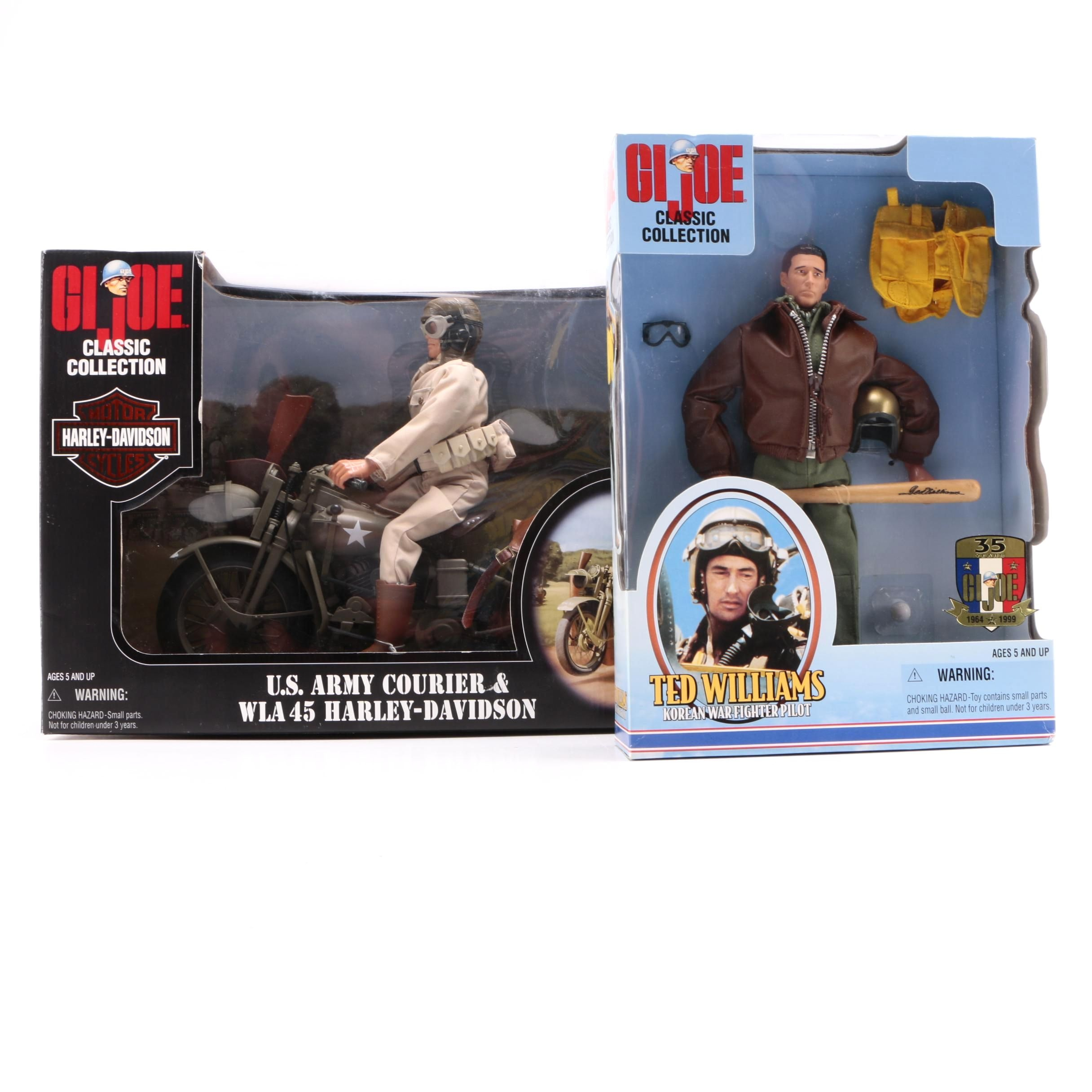Two G.I. Joe Classic Collection Figures