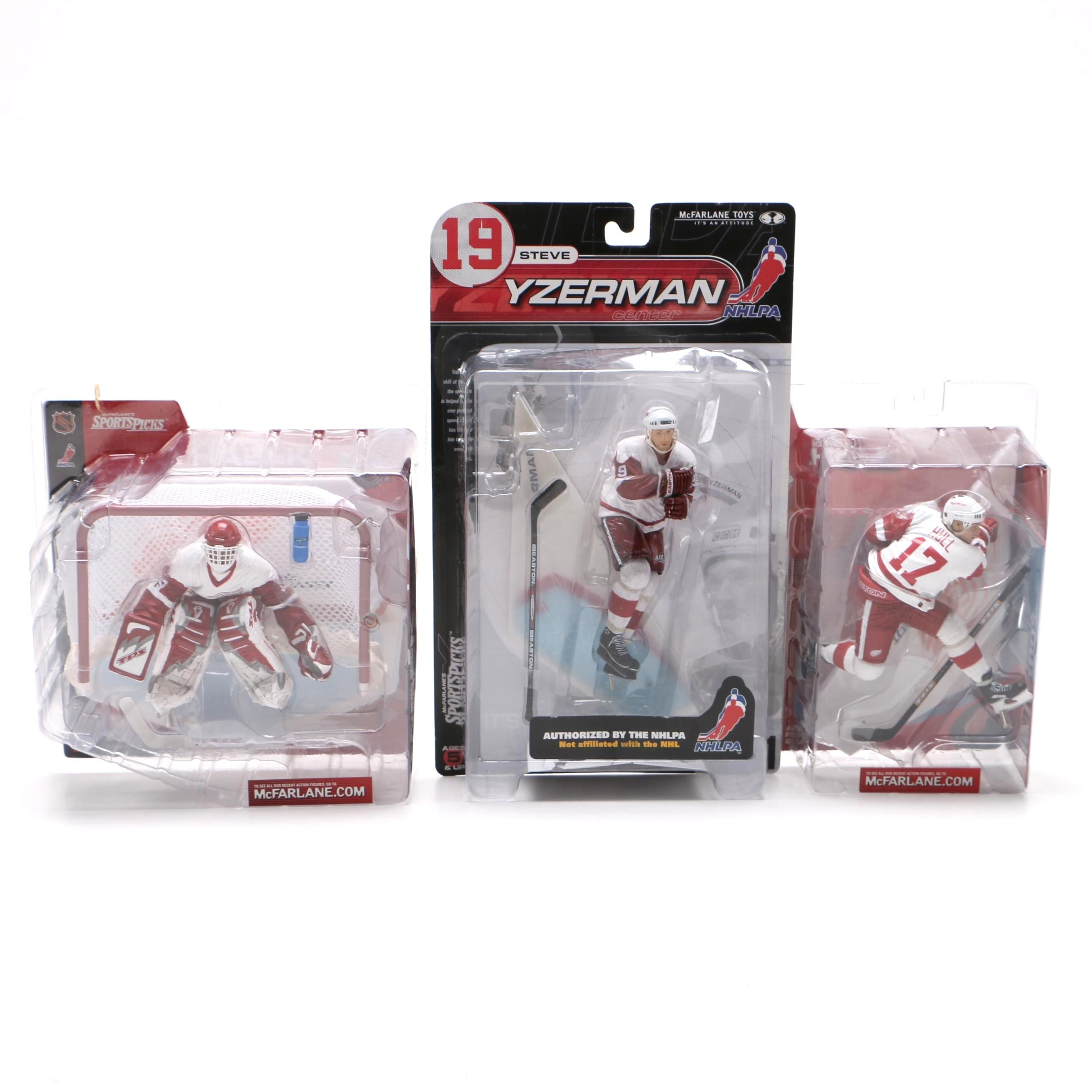 Detroit Red Wings Action Figures
