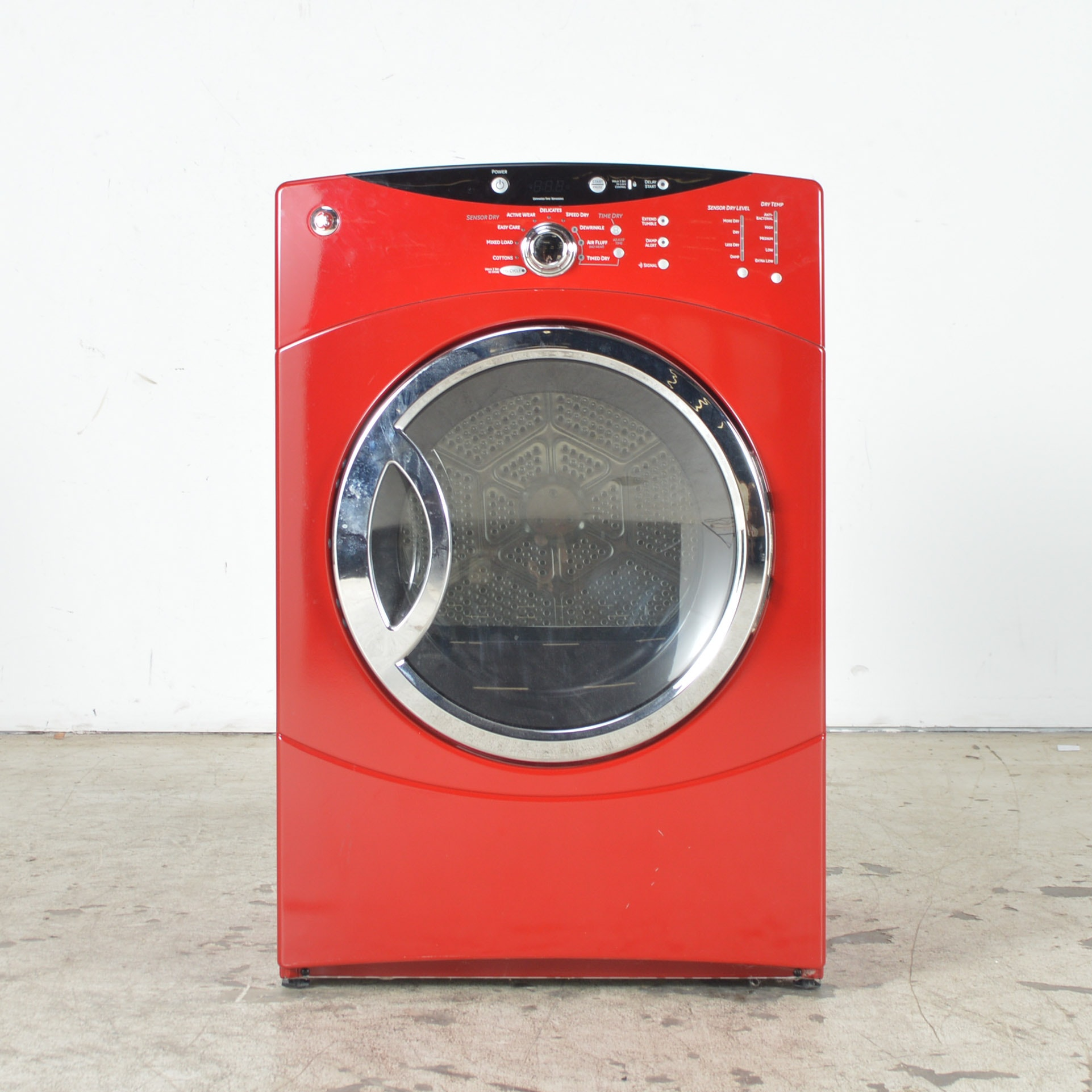 red ge electric dryer