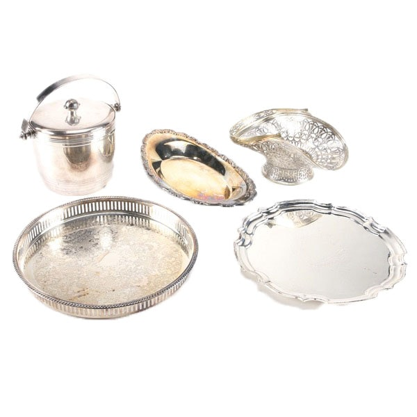 Plated Silver Tableware