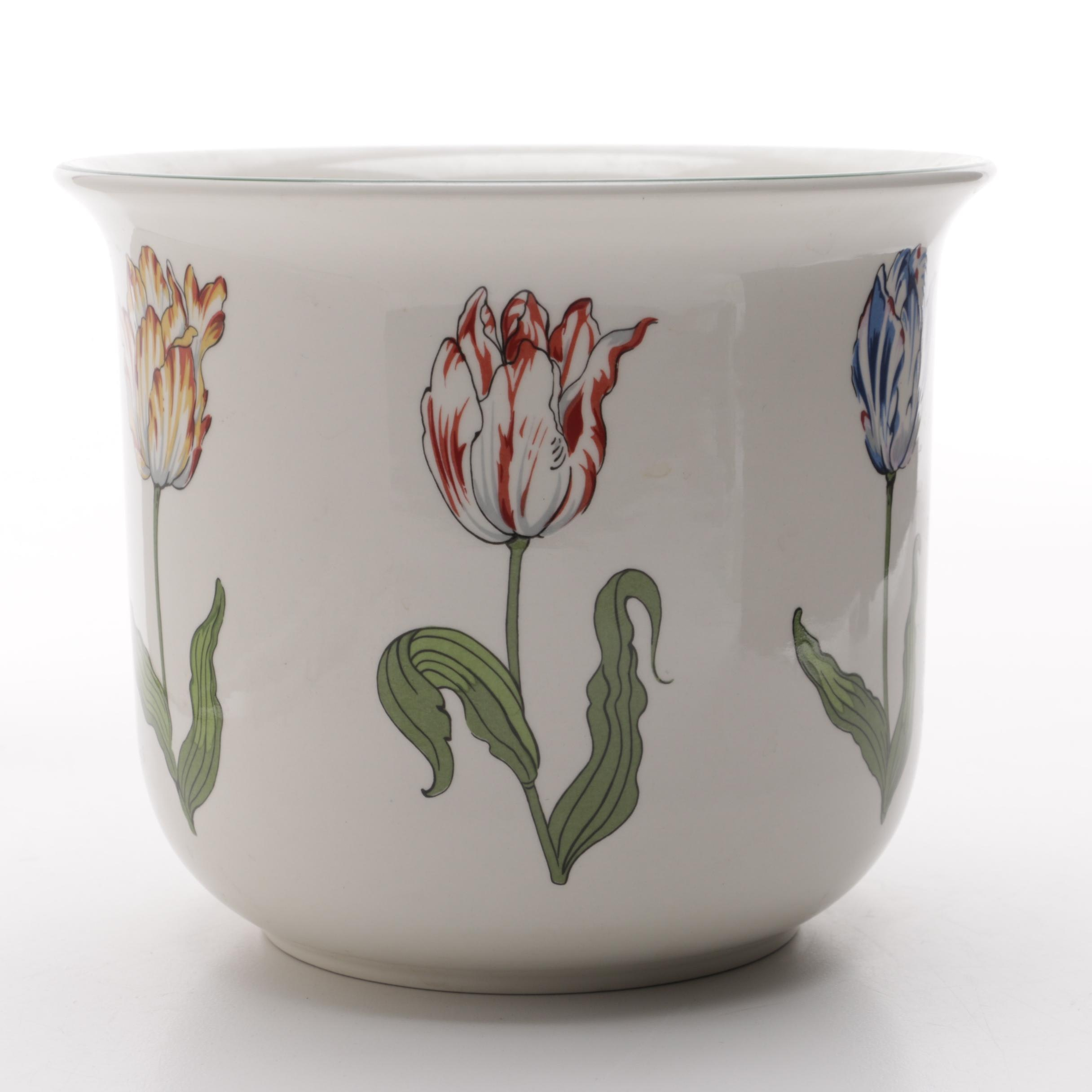 """Tiffany Tulips"" Flower Pot by Tiffany & Co."