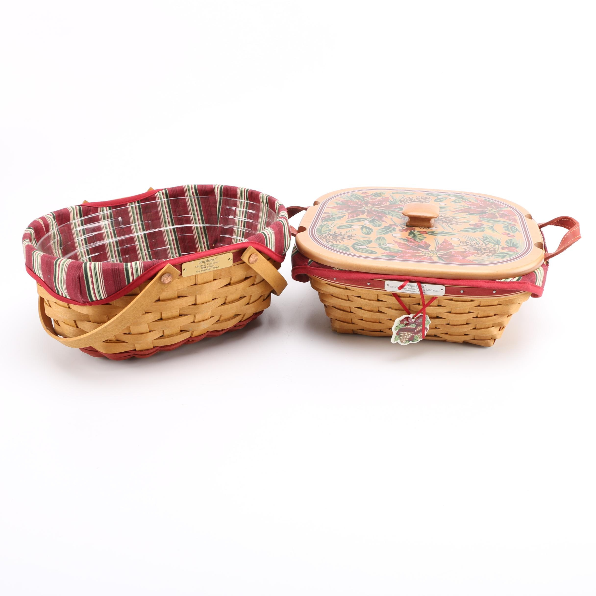 "Longaberger ""Christmas Collection"" Baskets"