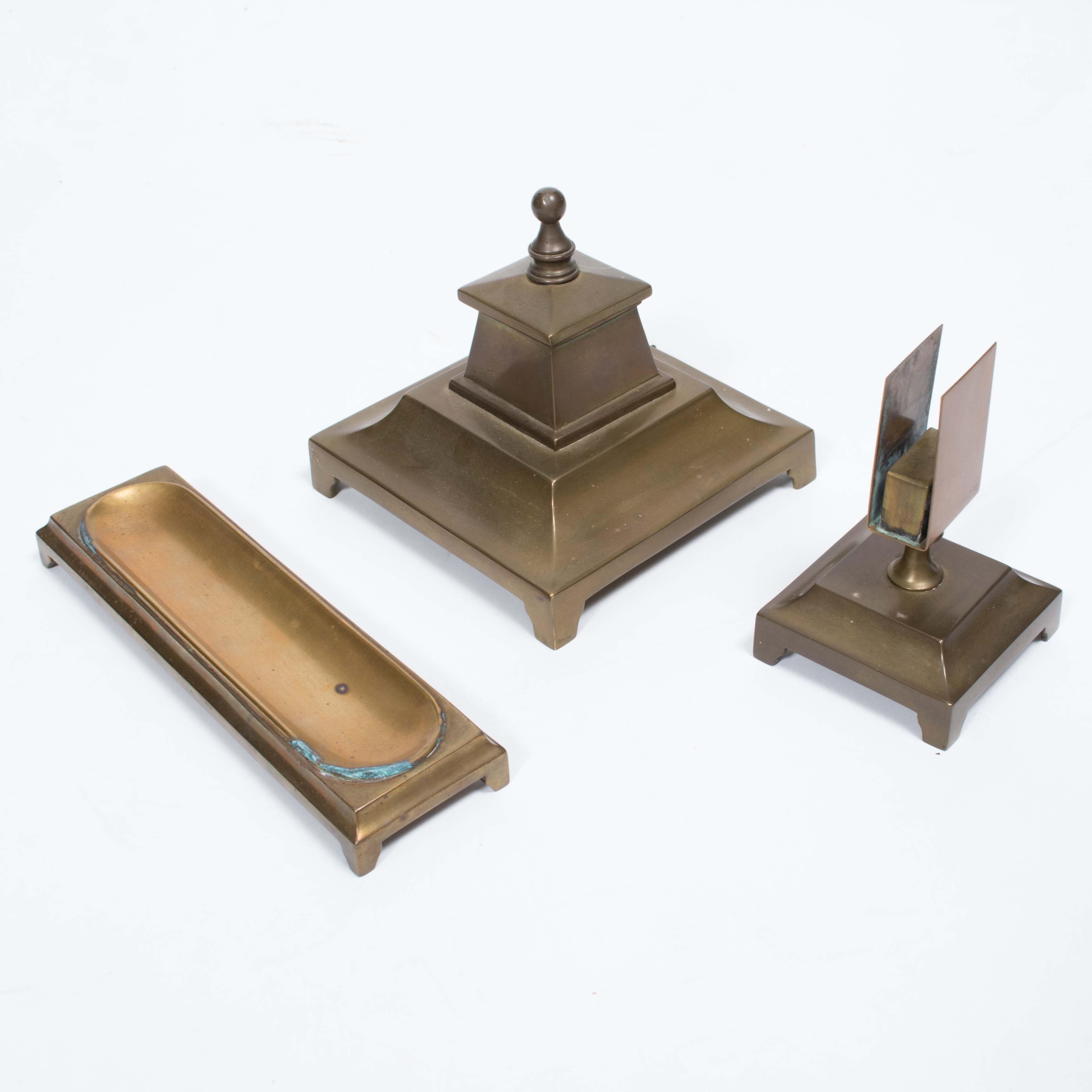 Antique Brass Desk Accessories