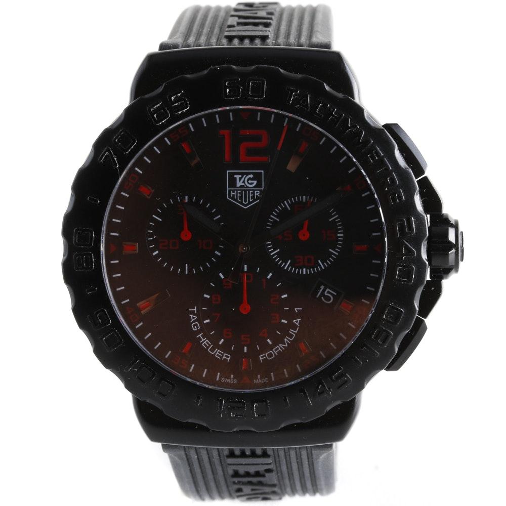 "Tag Heuer ""Formula"" Chronograph Wristwatch"