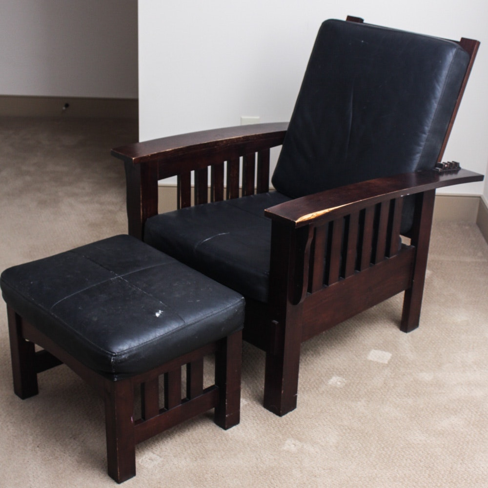 Contemporary Arts and Crafts Style Morris Chair