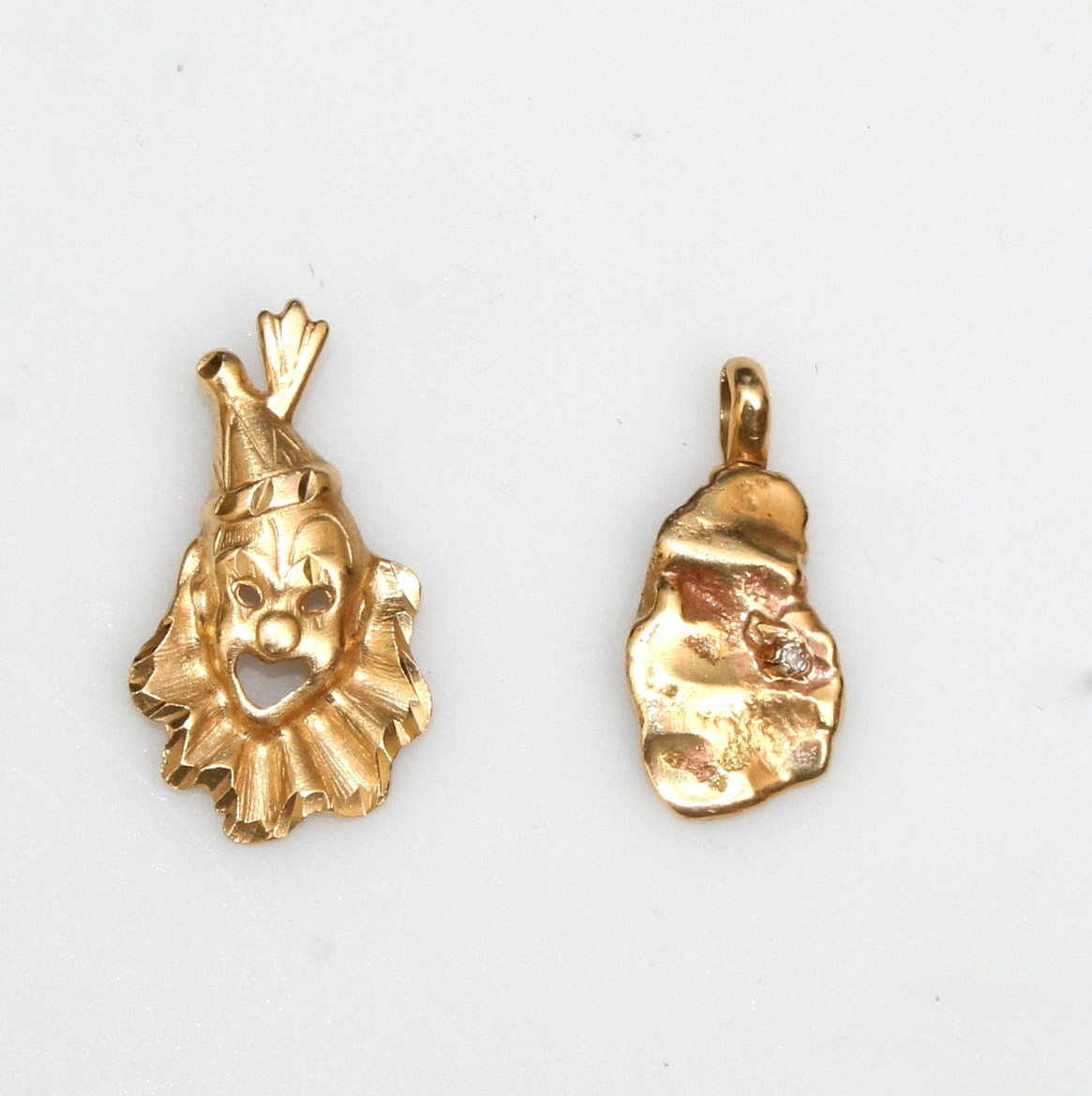14K Yellow Gold Pendants