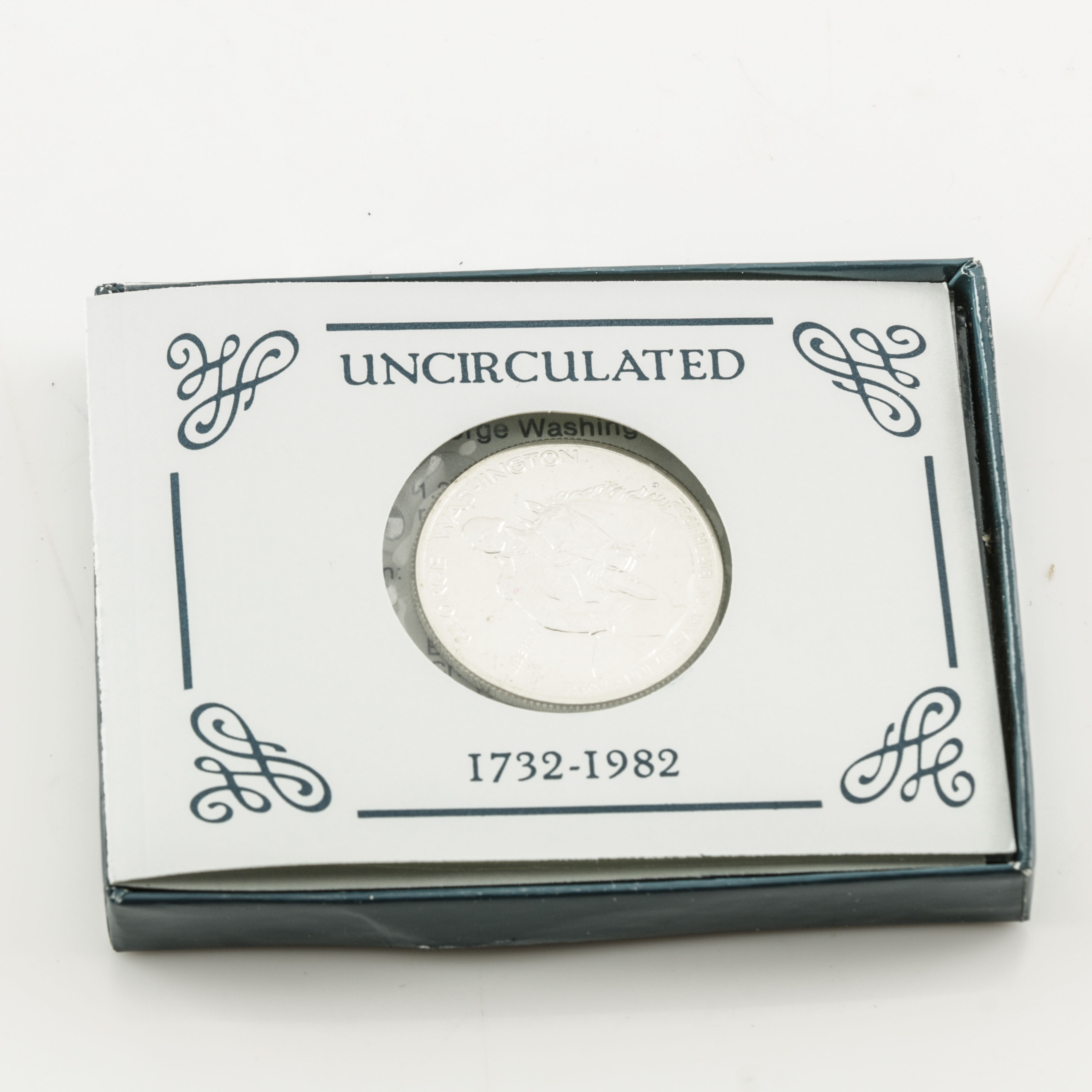 1982 George Washington Commemorative Silver Half Dollar