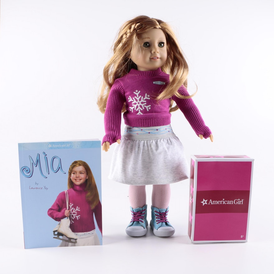 american girl girl of the year doll mia st clair ebth. Black Bedroom Furniture Sets. Home Design Ideas