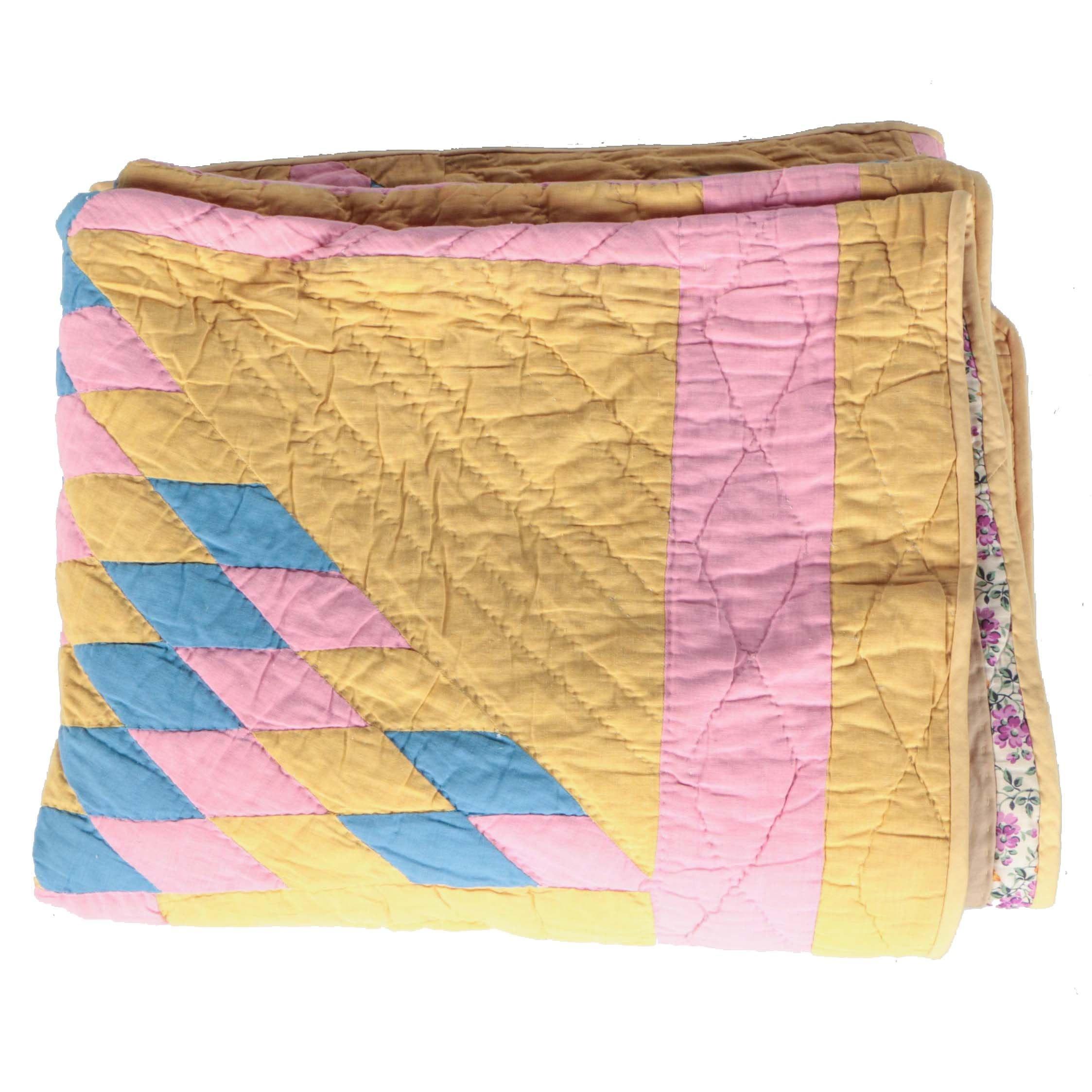 Lone Star Handmade Lap Quilt