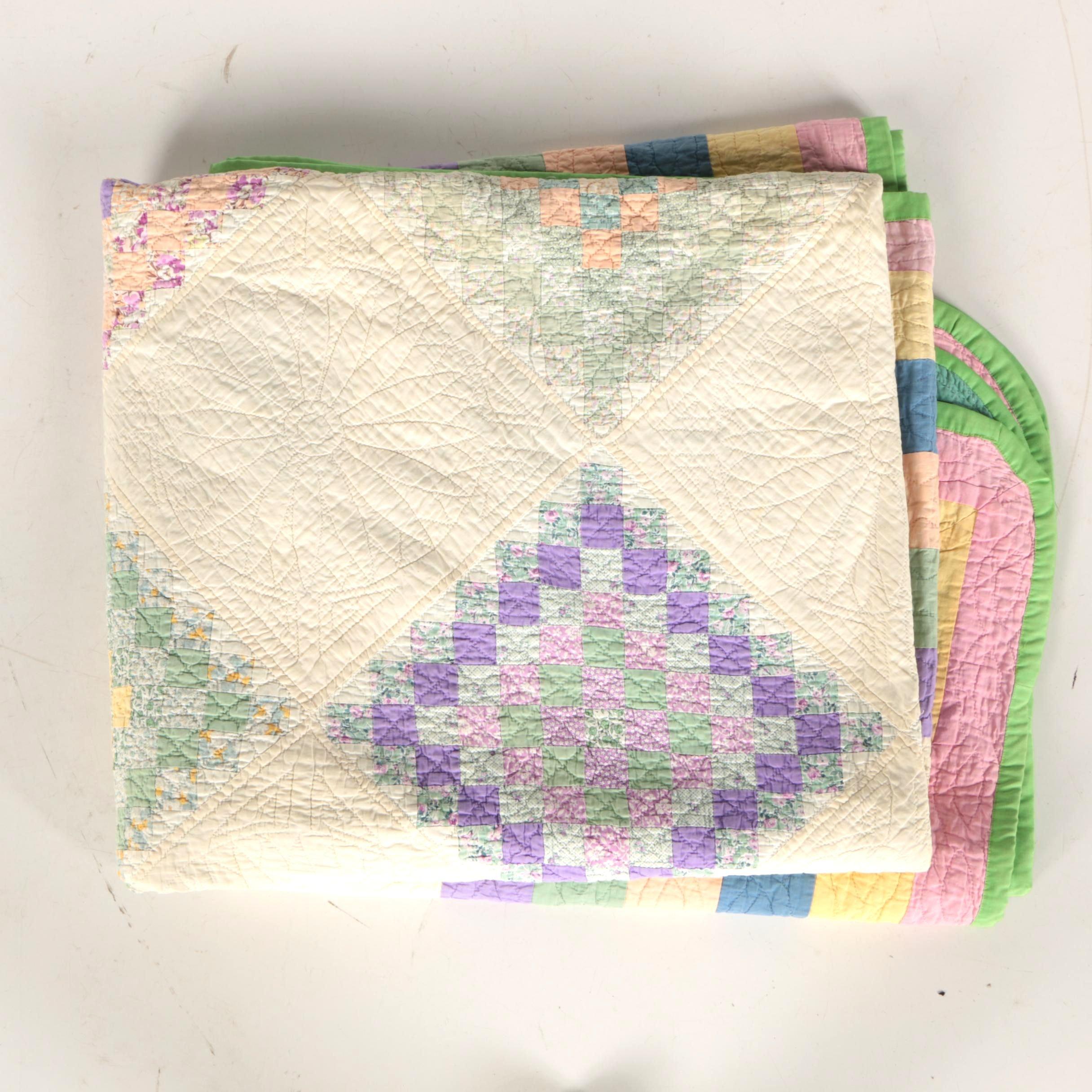 Mosaic Tile Handmade Quilt