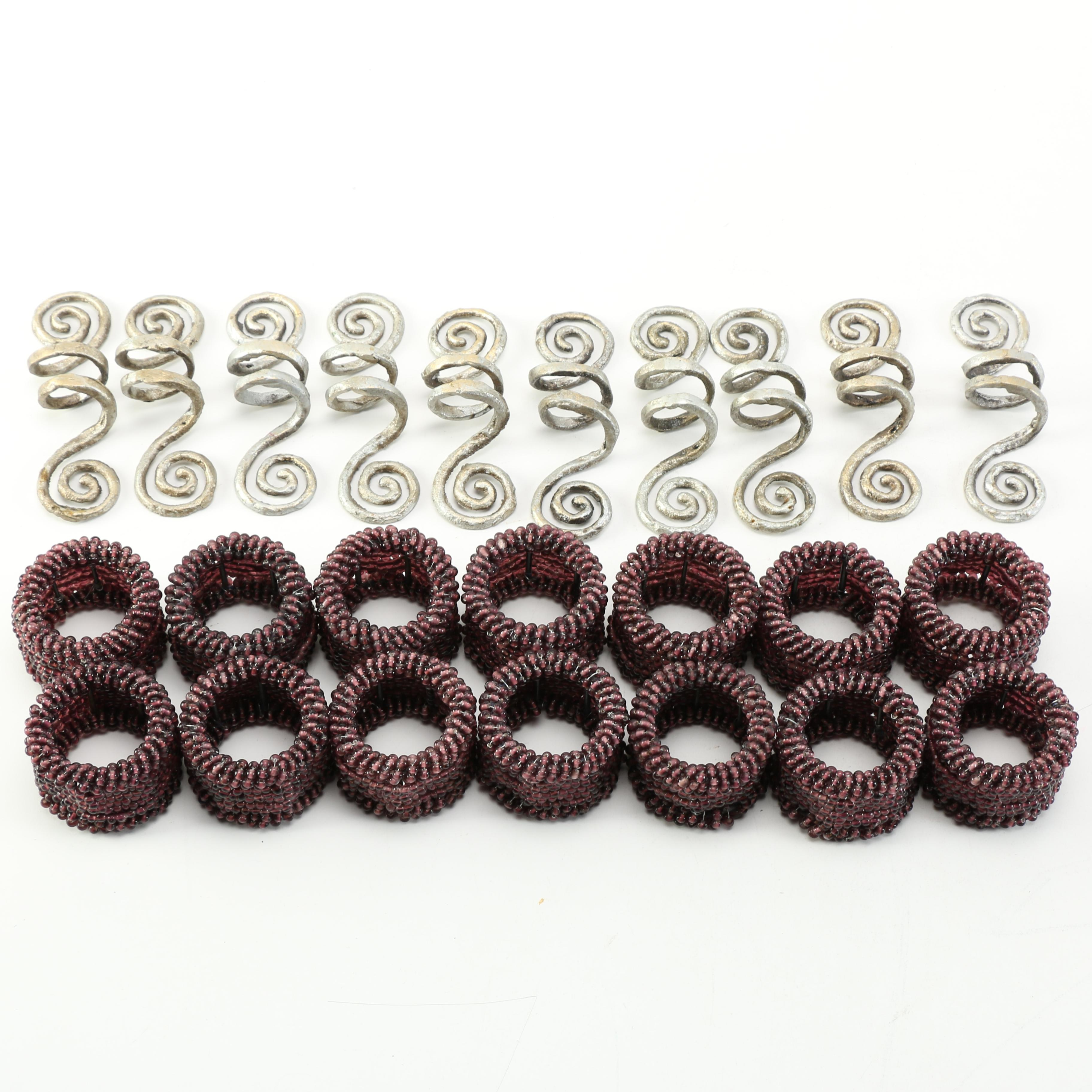 Assorted Napkin Rings