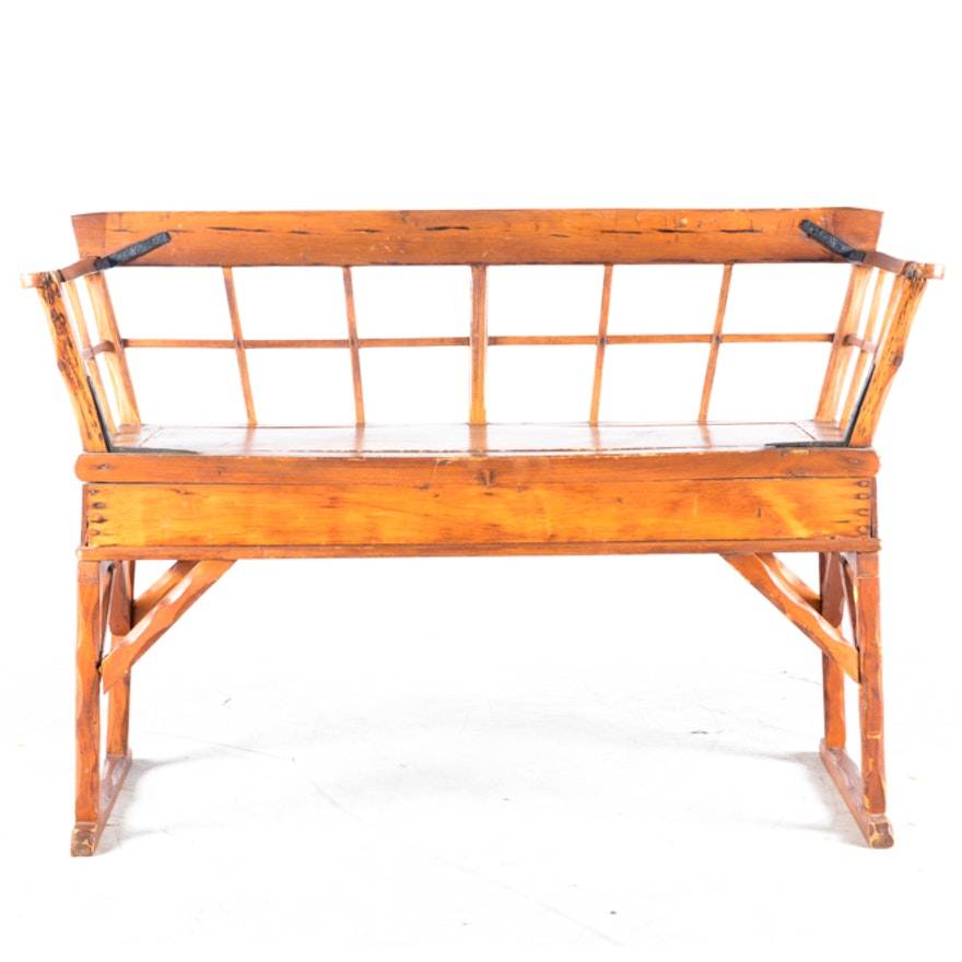 Primitive Pine Bench