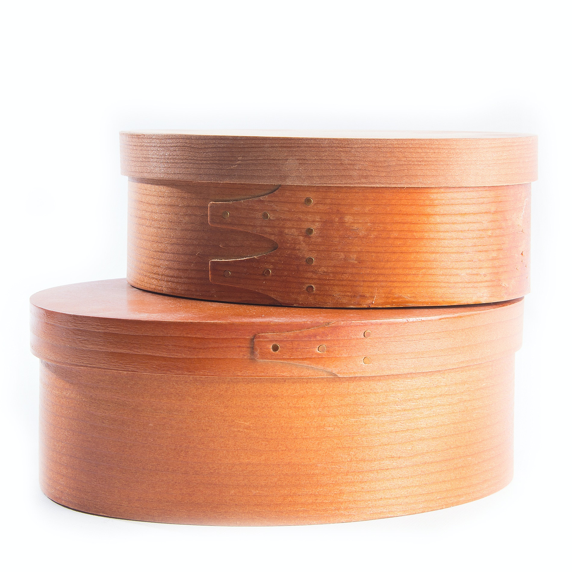 Nesting Oval Shaker Style Boxes