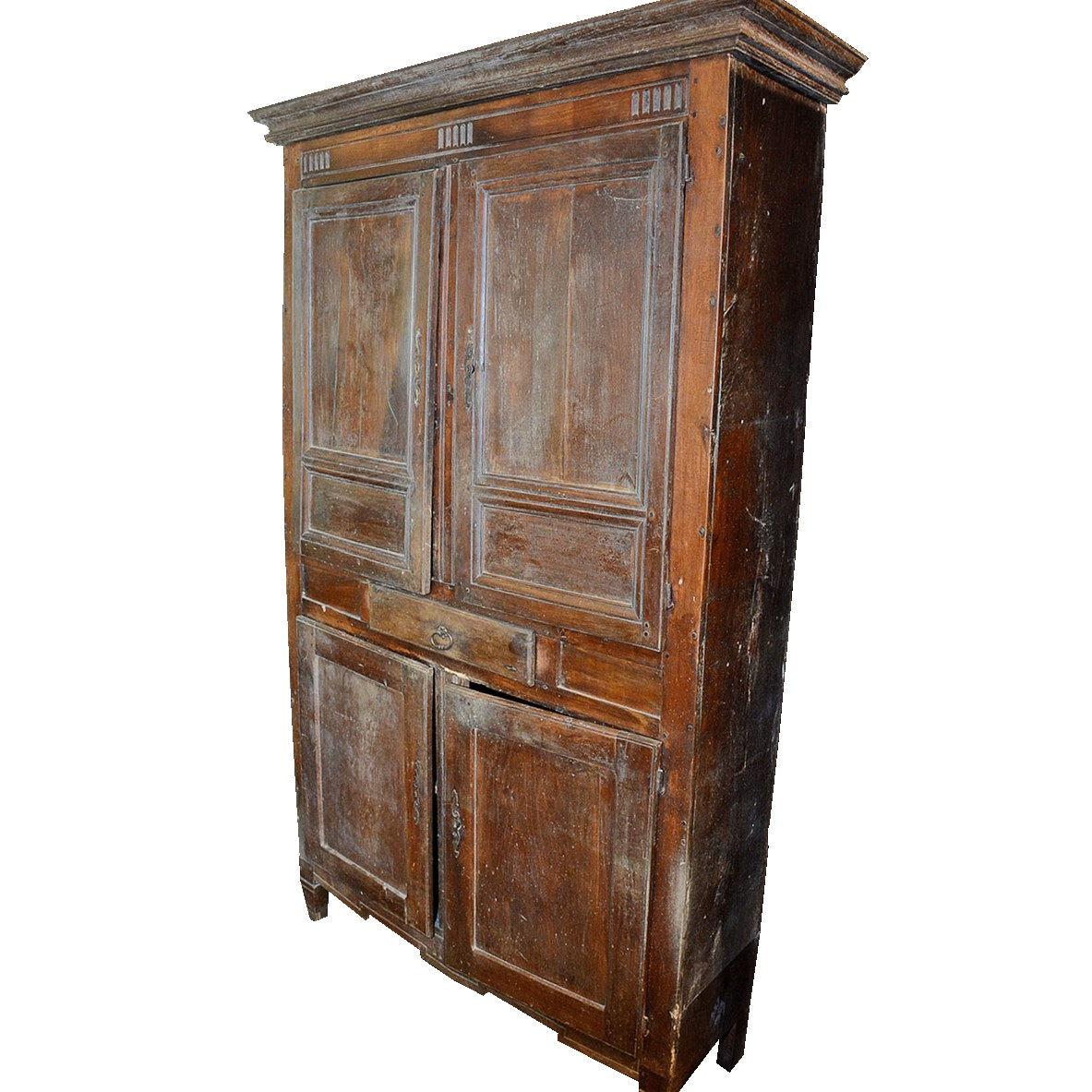 Antique Eastlake Inspired Mahogany Cabinet