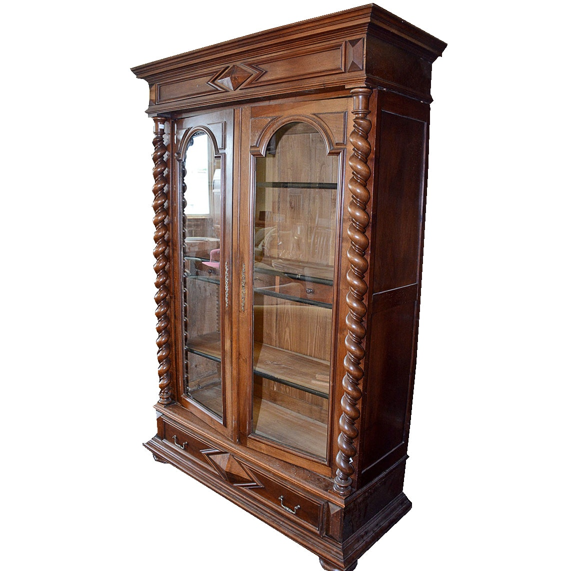 Victorian Style Cabinet