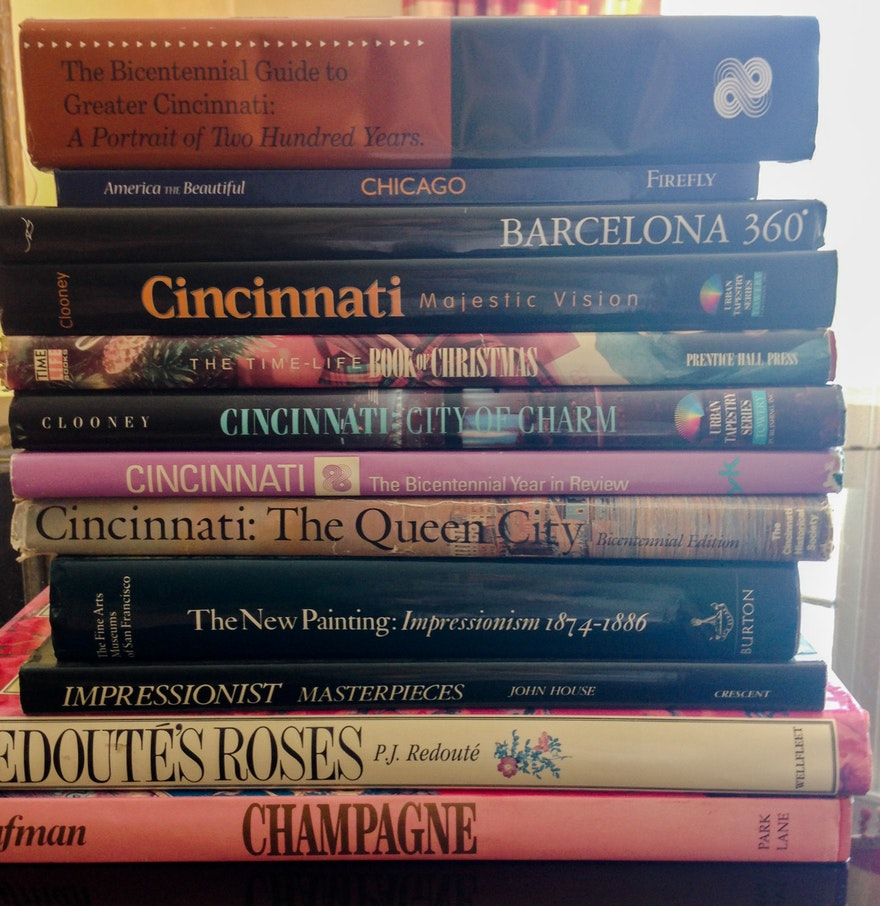 Eclectic coffee table books ebth eclectic coffee table books geotapseo Choice Image