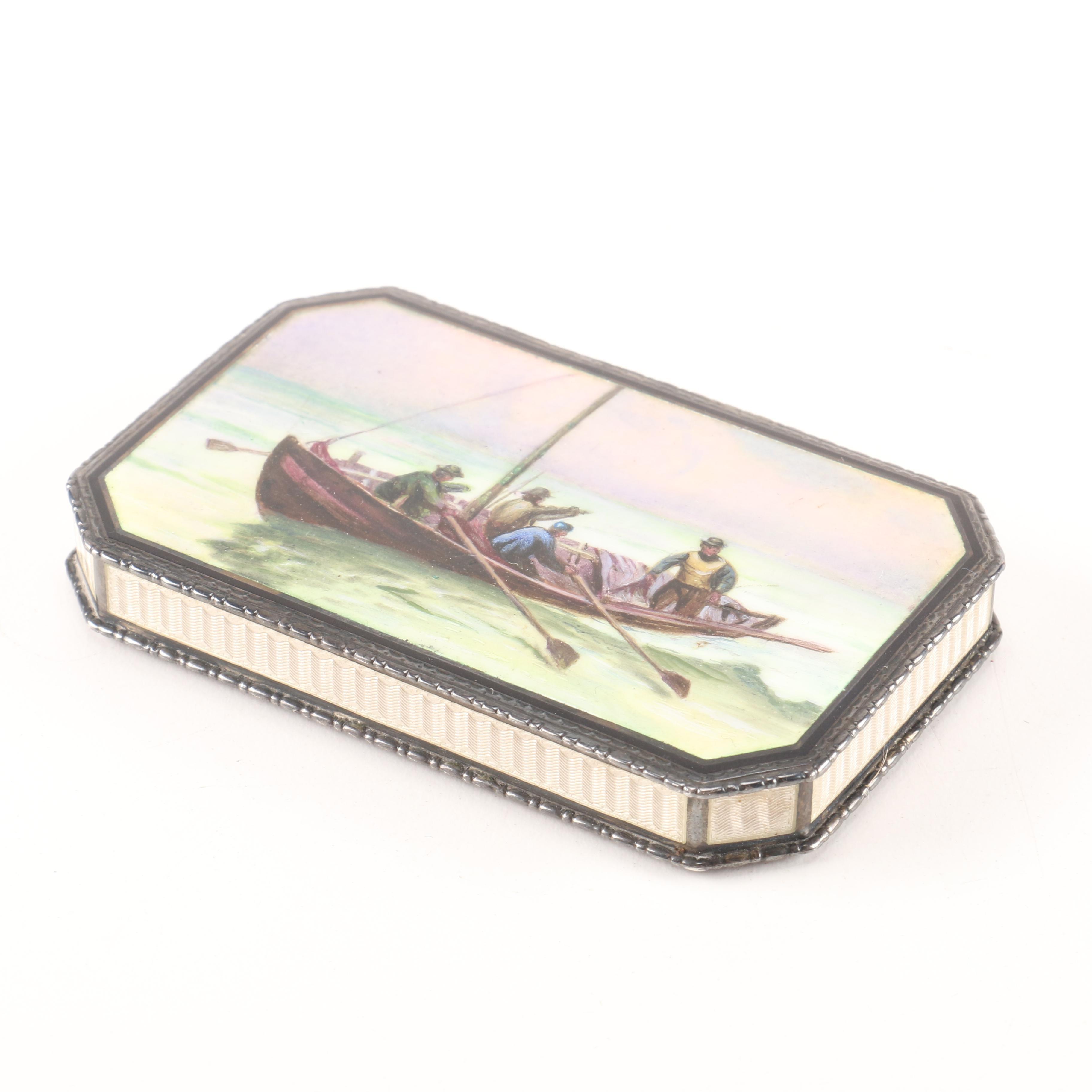 Vintage Pillbox