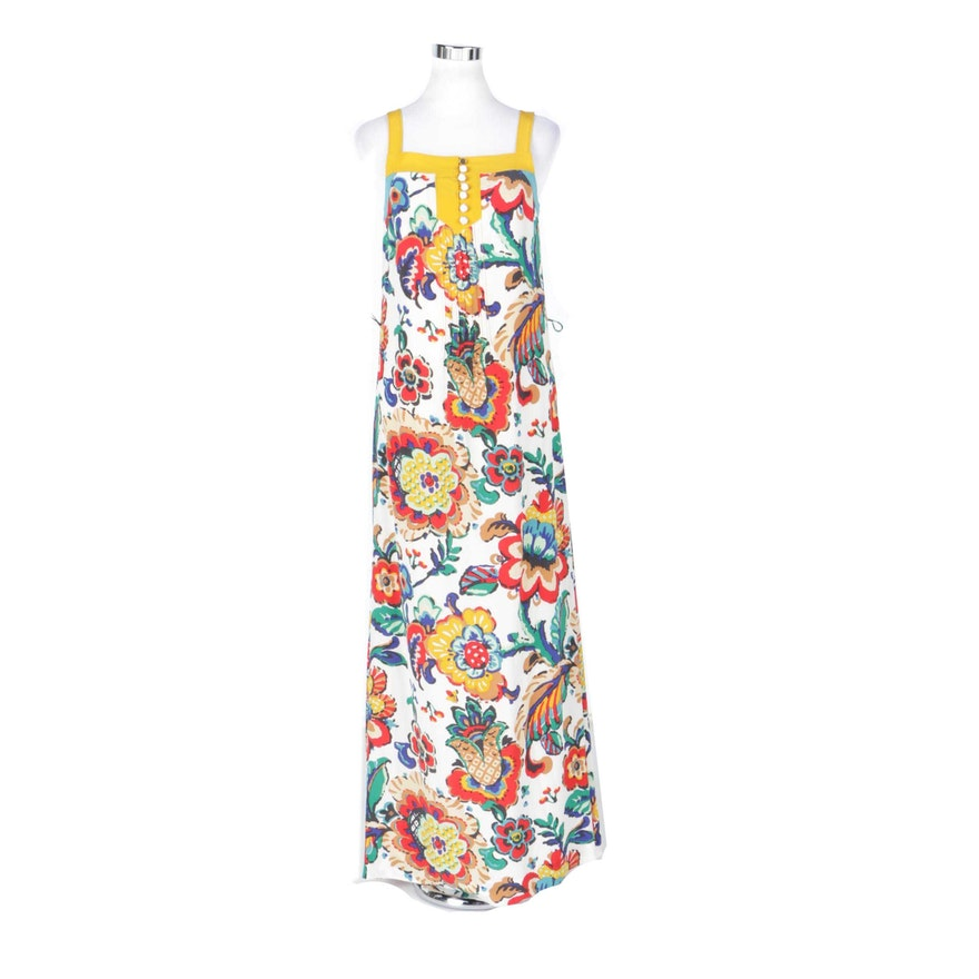 c3fff7e8d11 Tory Burch Floral Silk Maxi Dress   EBTH
