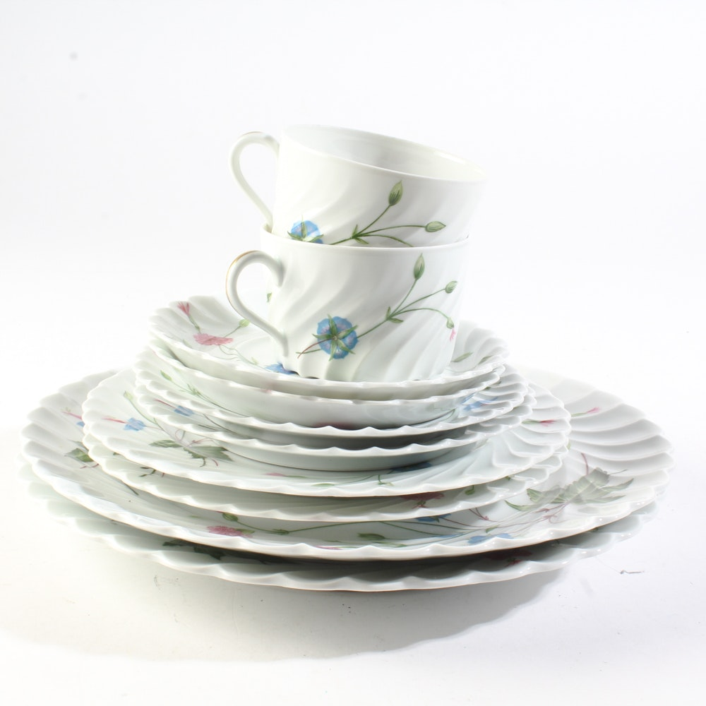 """Two Place Settings of Haviland Limoges """"Florence"""""""