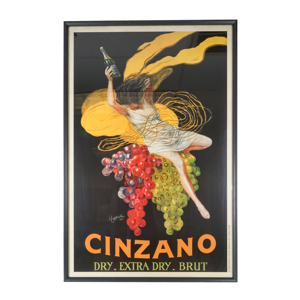 Giclee Print After 1920 Cinzano Vermouth Advertisement