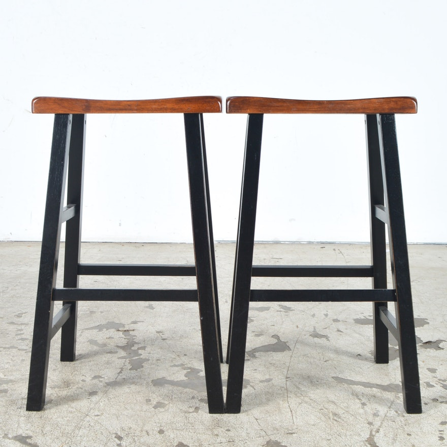 Stupendous Saddle Style Counter Stools By Garden Ridge Pdpeps Interior Chair Design Pdpepsorg